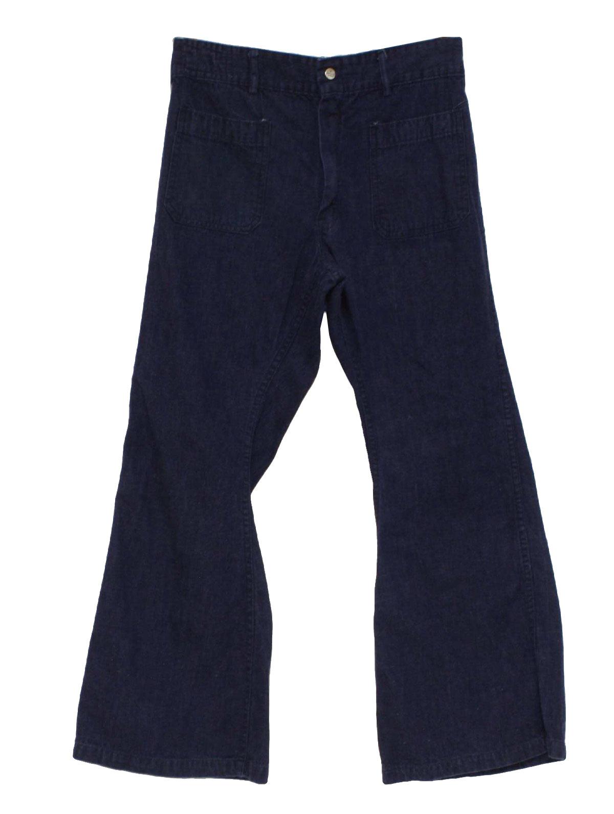 Vintage Seafarer 1970s Bellbottom Pants: 70s -Seafarer- Mens denim ...