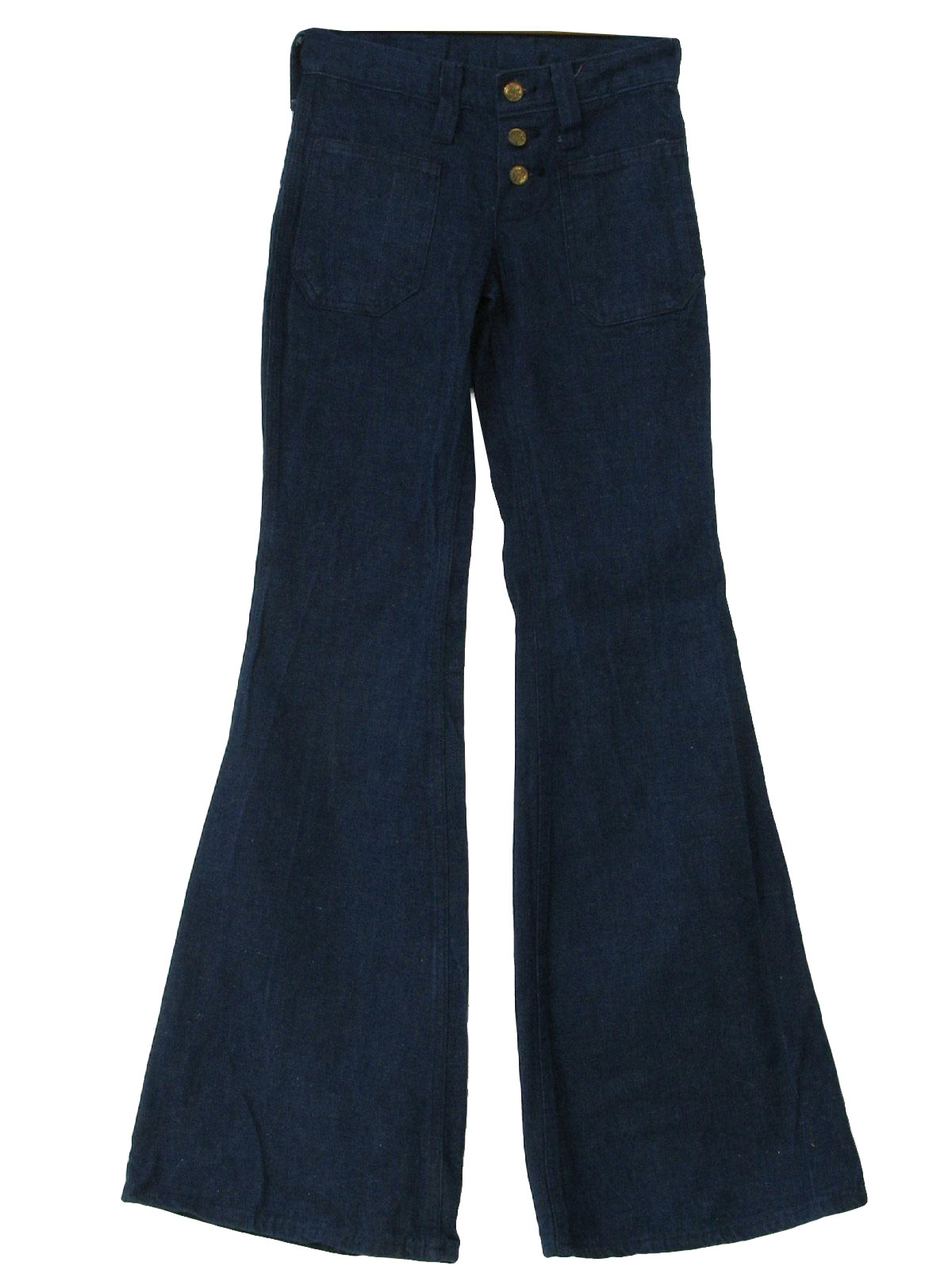 Bell bottom jean navy