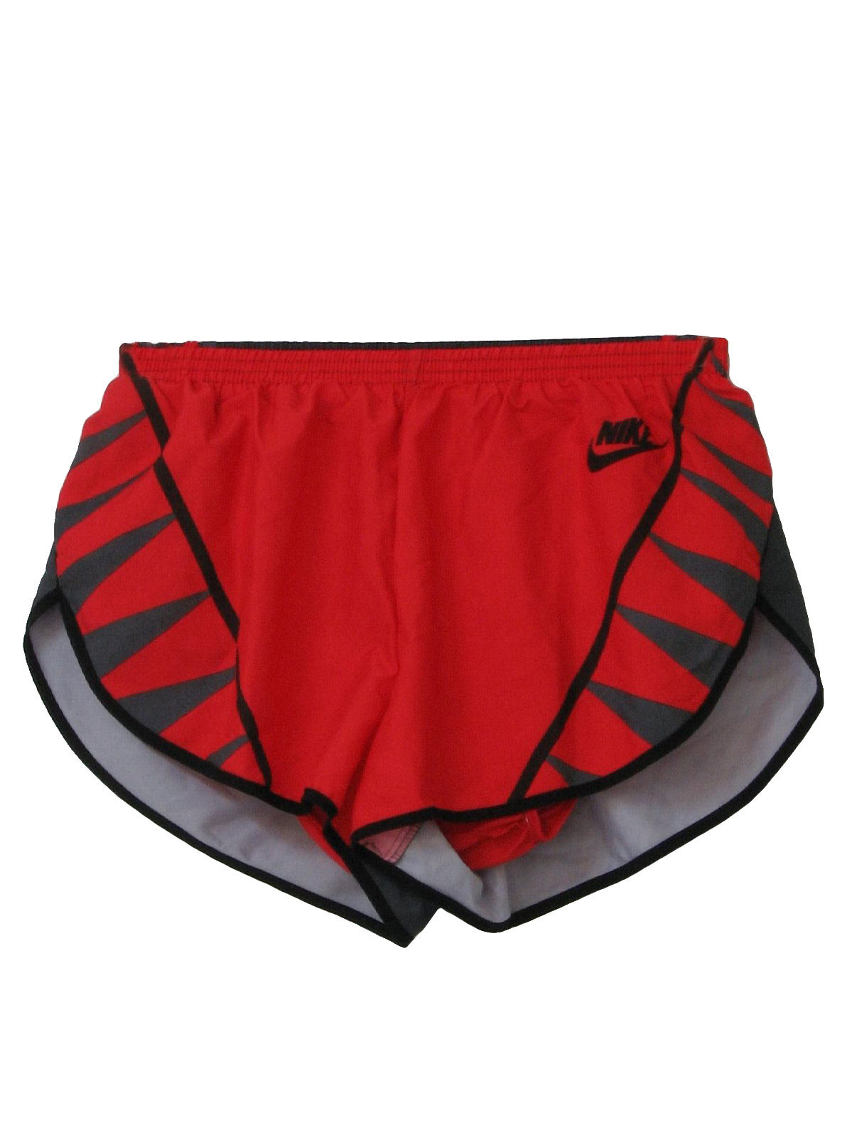 1990 S Vintage Nike Shorts 90s Nike Mens Red Black And