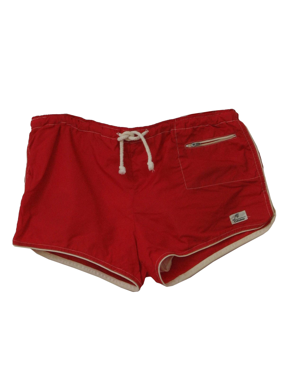 Mens Red Short Shorts