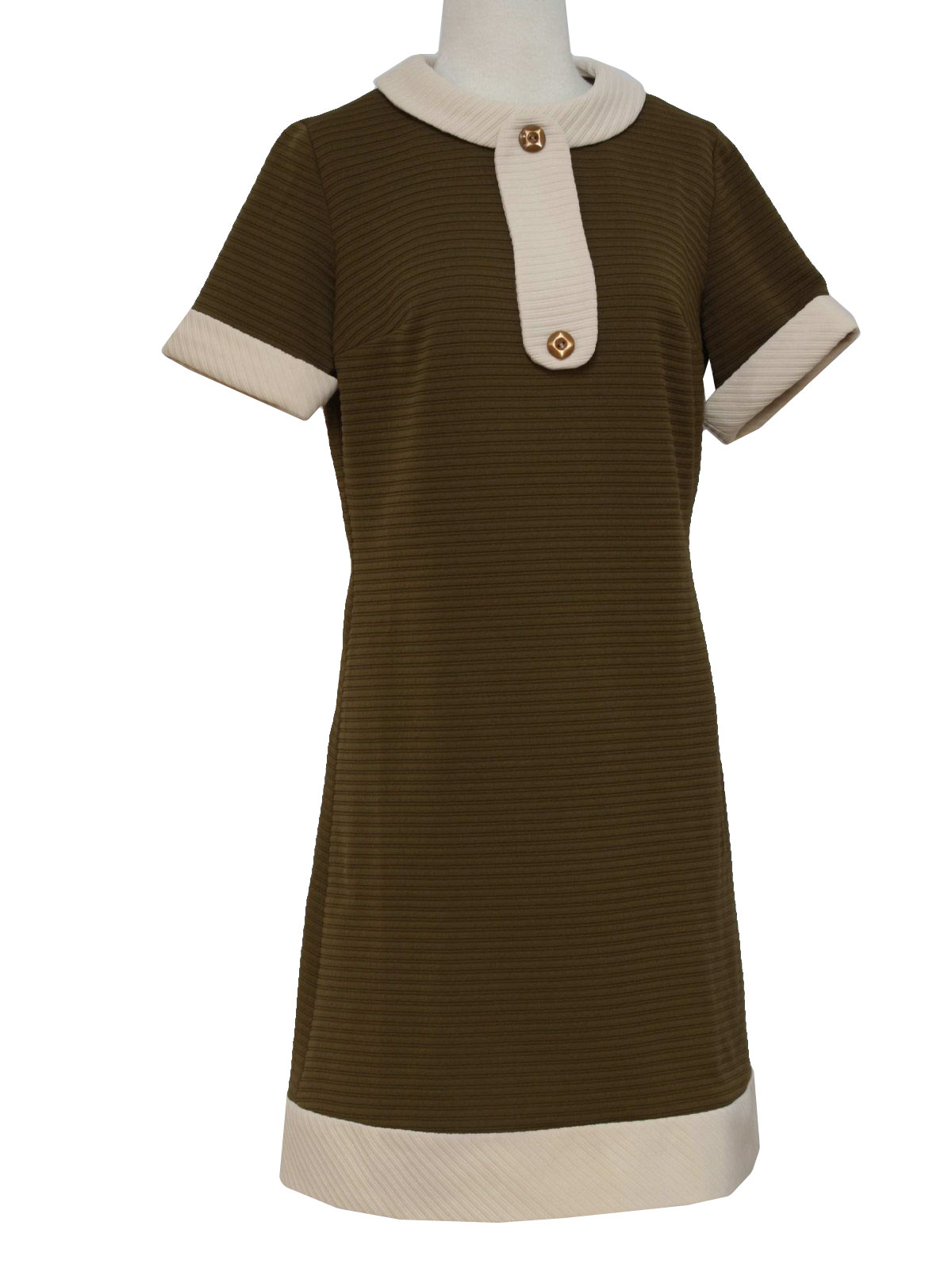 Sixties Dress Late 60s Or Early 70s No Label Womens