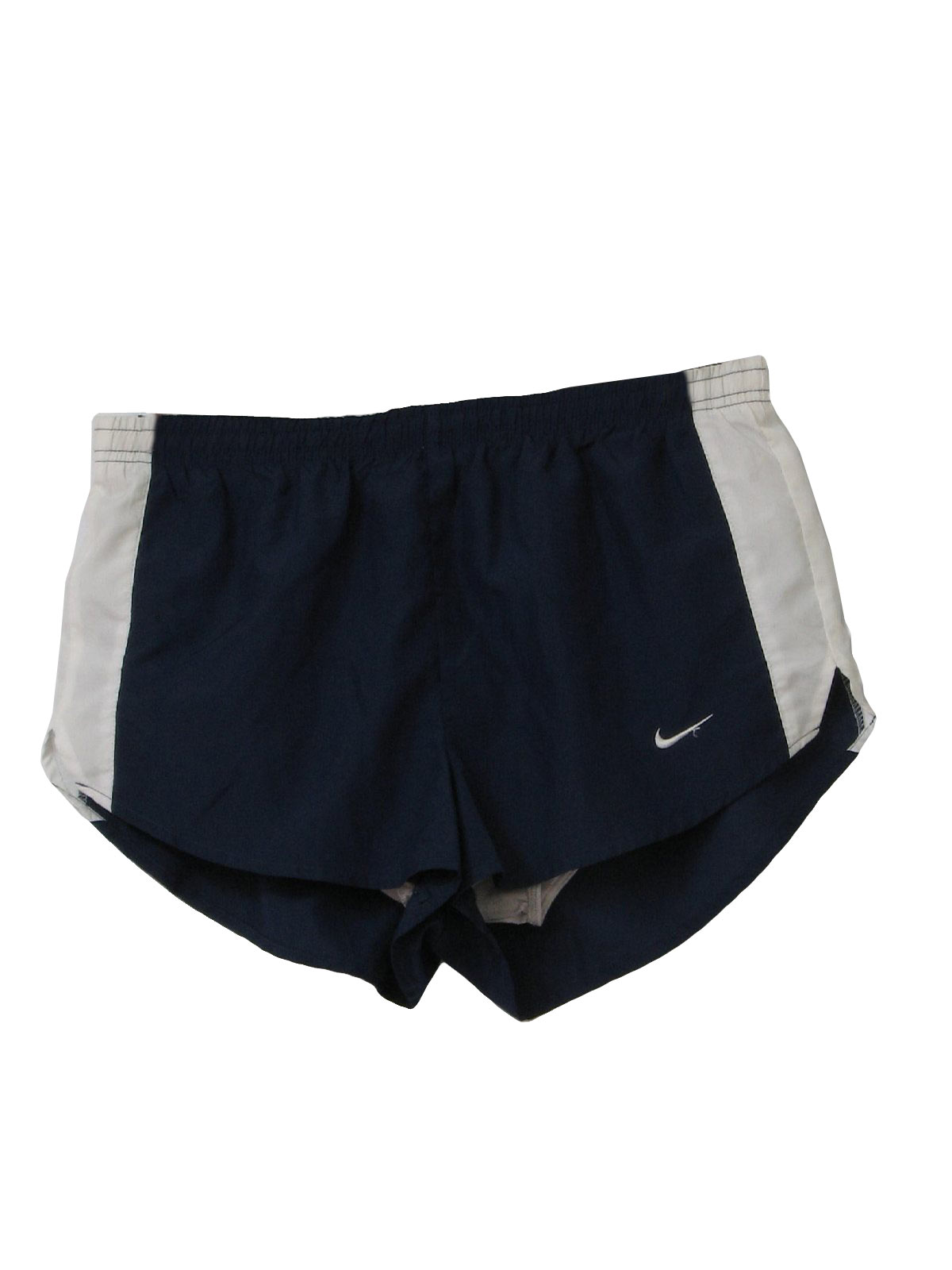 90 S Nike Shorts 90s Nike Mens Dark Blue And White Side