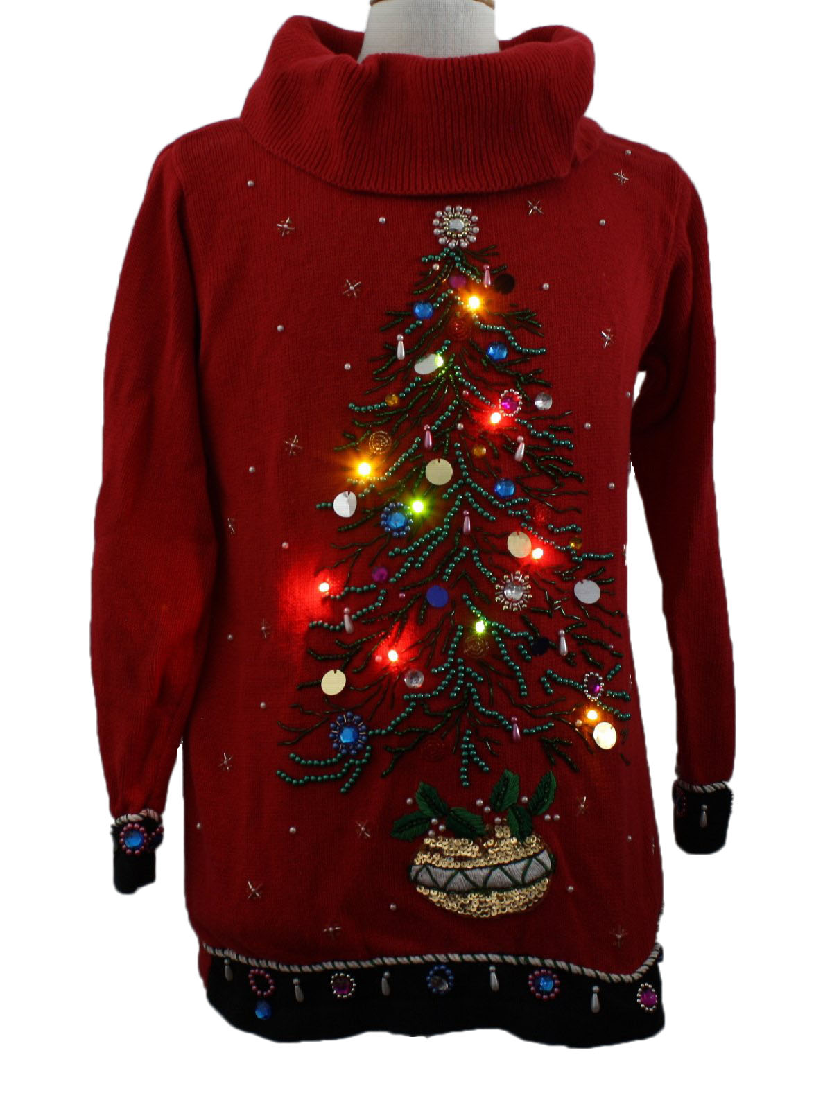 B.P. Design Womens Lightup Ugly Christmas Sweater $89.00 Not in stock. Item No. 217170