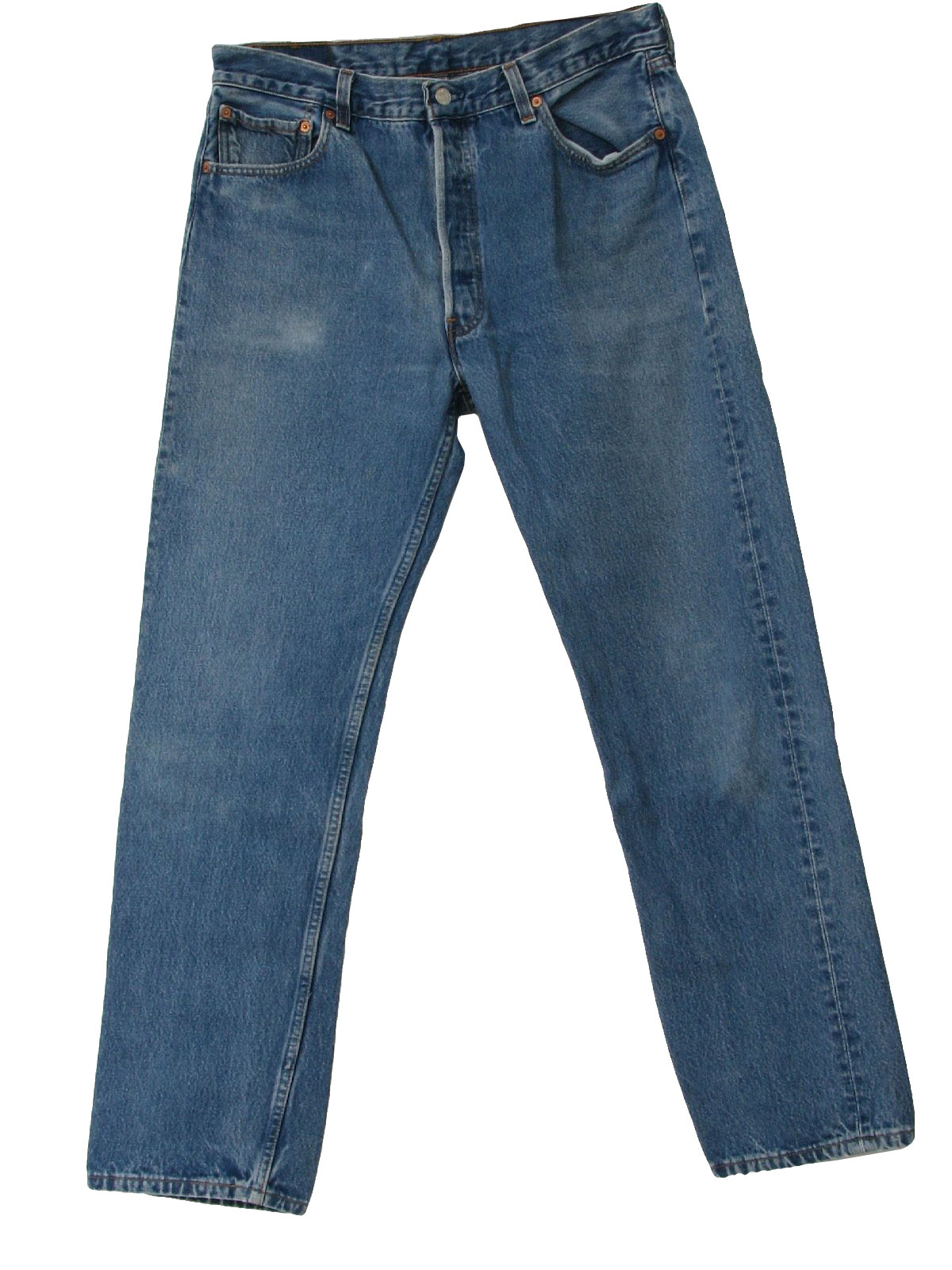 Faded Blue Jeans 90s -Levis- Mens faded blue
