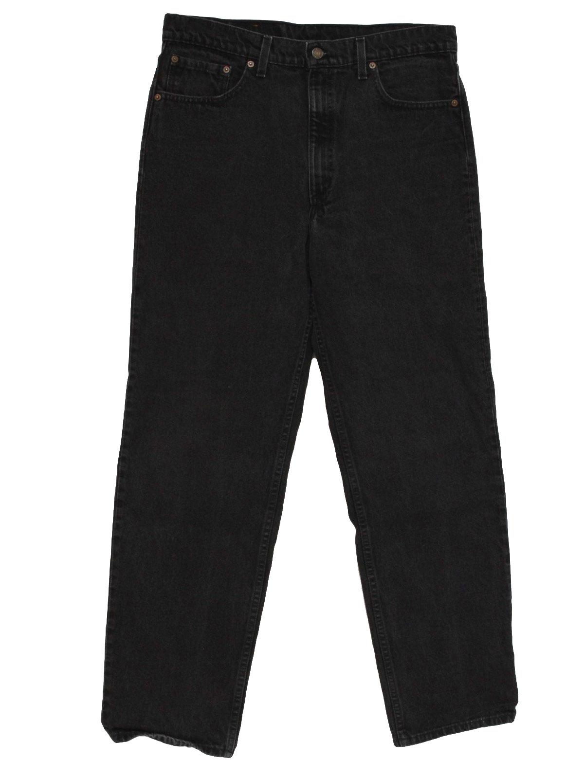 black pants jeans - Pi Pants