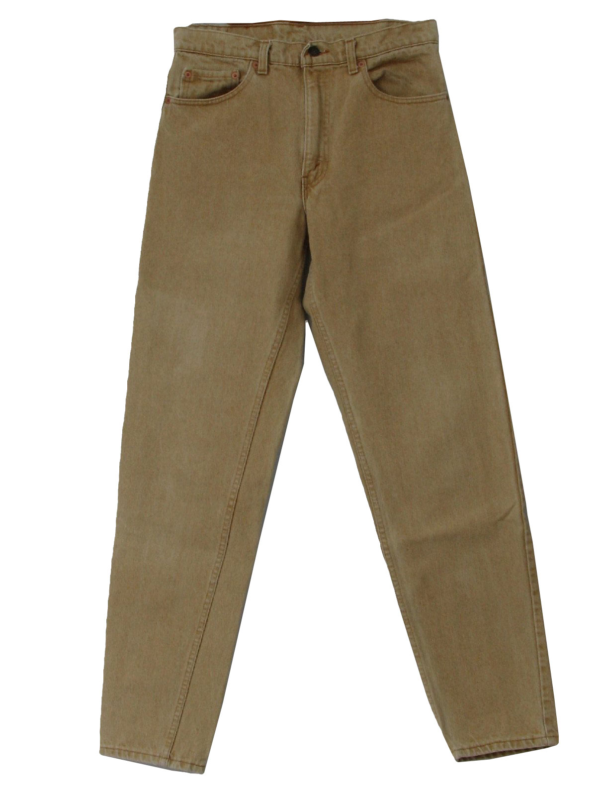 Vintage Levis 90's Pants: 90s -Levis- Mens light sand colored ...