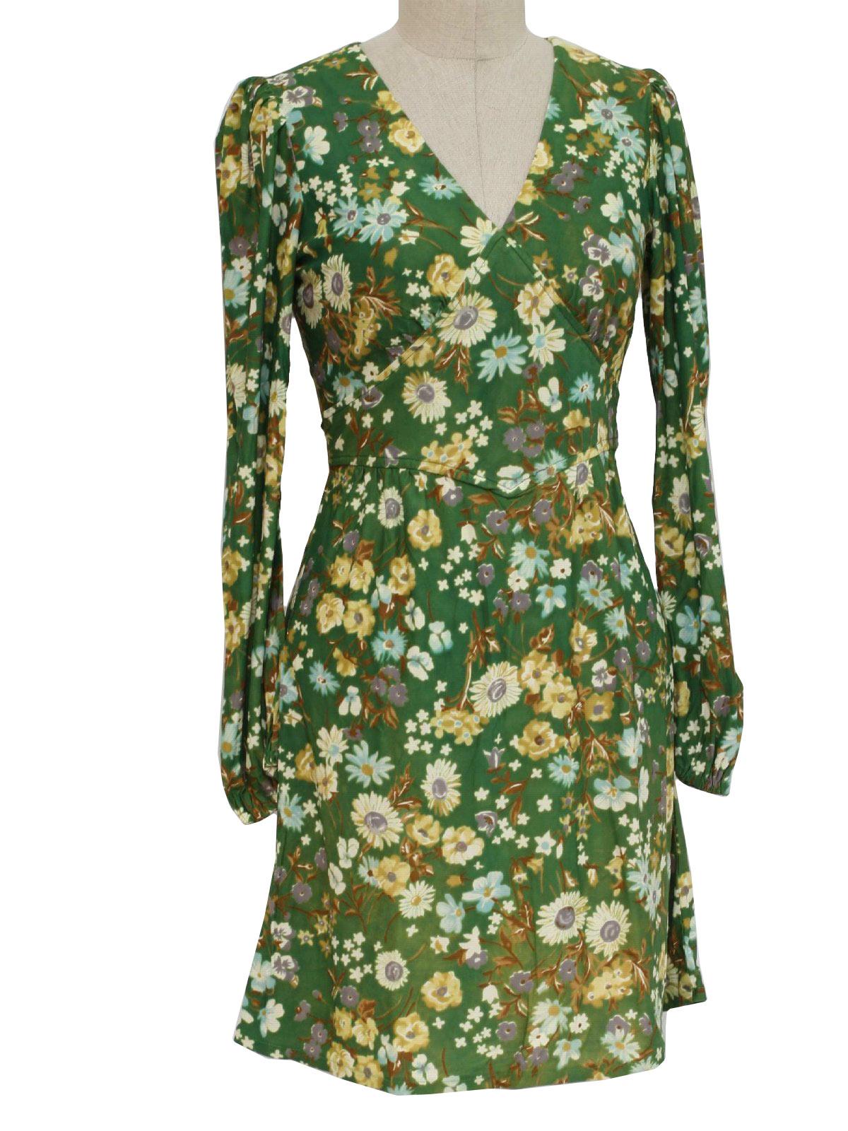 Kristie Lou 70 S Vintage Hippie Dress 70s Kristie Lou