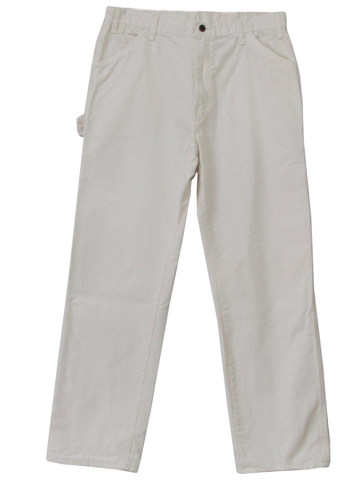 Painters Pants Vintage Cotton Painter Pants With