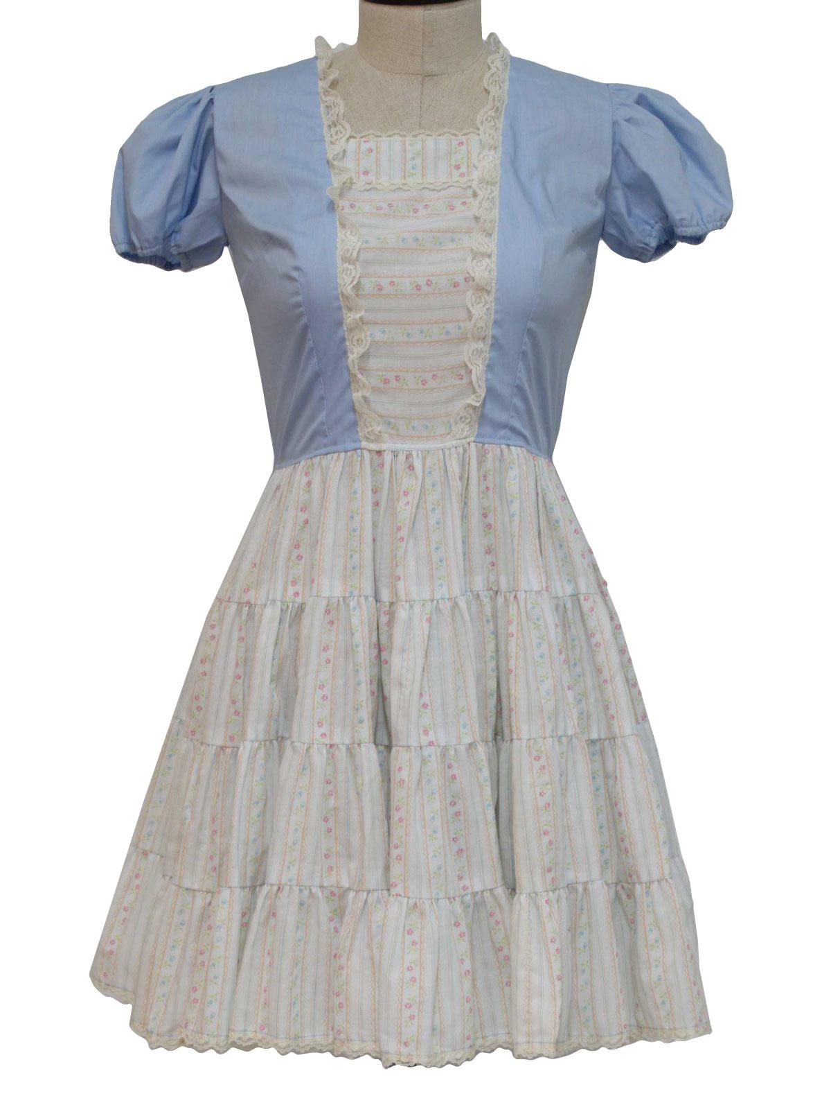 1970s Kate Shorer Dress 70s Kate Shorer Womens White