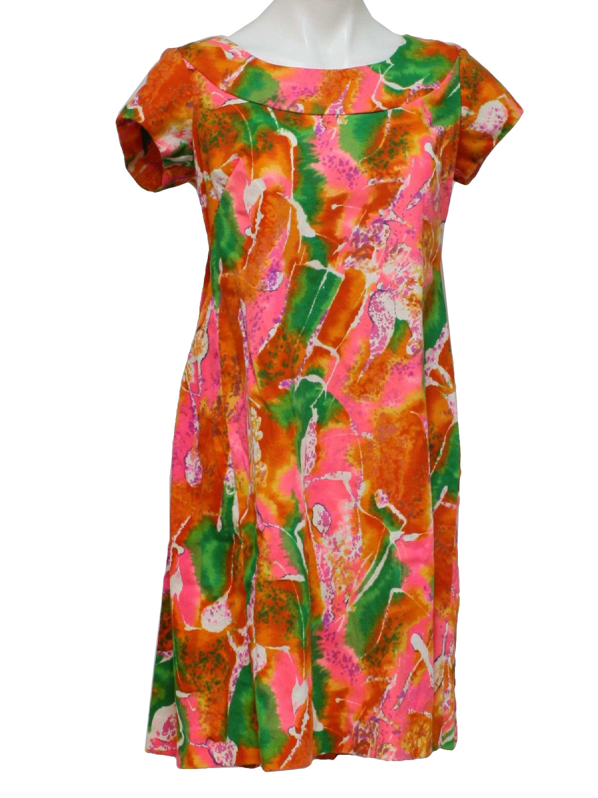 Wonderful 196039s Hawaiian Dress Royal Hawaiian  60s Royal Hawaiian Womens