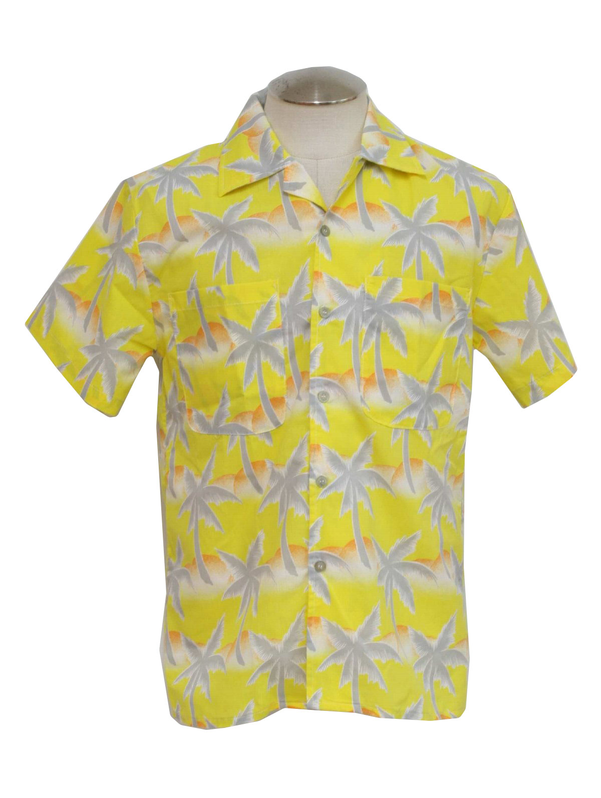 1d782521 80's Tropicana Hawaiian Shirt: 80s -Tropicana- Mens white, gray ...
