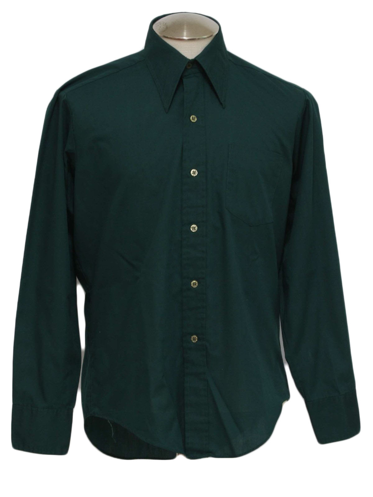 Lulus Exclusive! It's easy to dress for success when you have the Lulus Good Luck Charm Dark Green Short Sleeve Button-Up Top in your closet! This classic collared top has a full covered button and loop placket running the length of its breezy, woven fabric bodice/5(5).