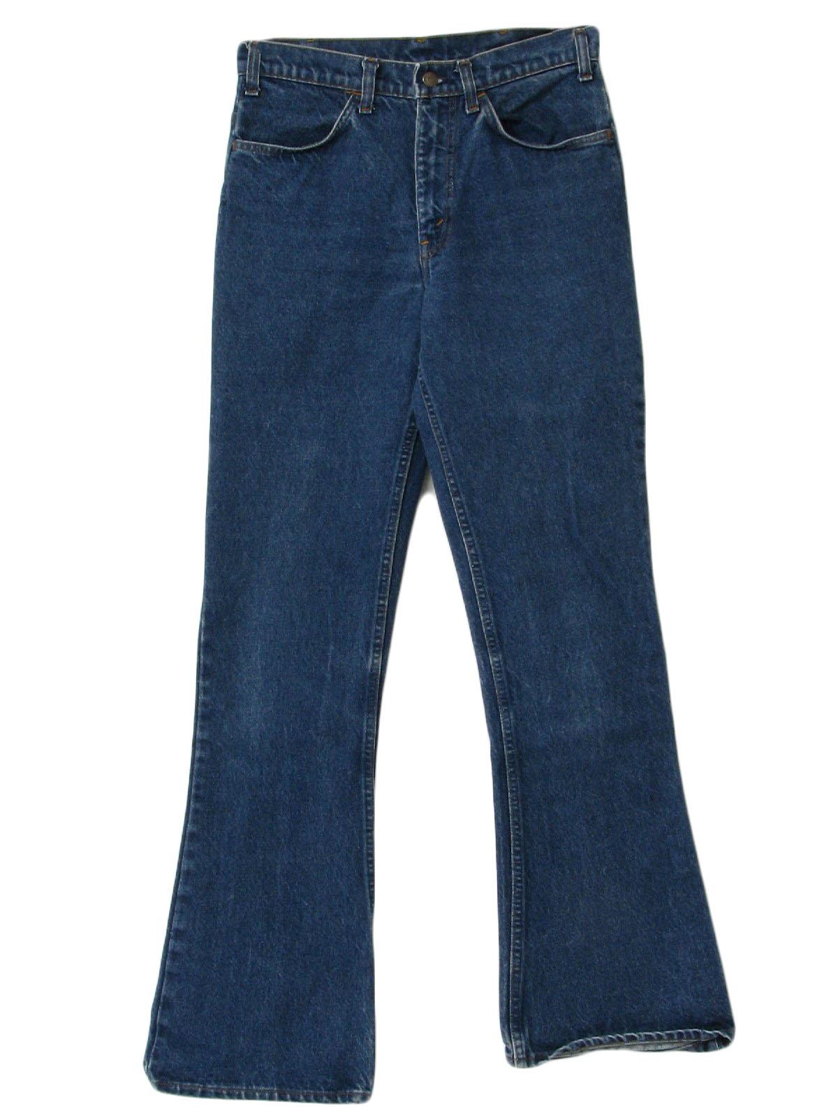 Levis 80's Vintage Flared Pants / Flares: 80s -Levis- Mens dark ...
