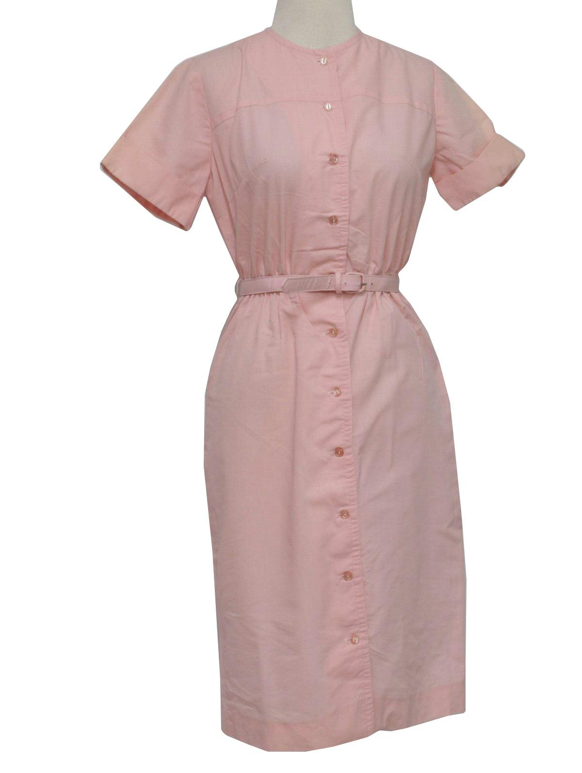 Vintage Light Pink Short Dresses