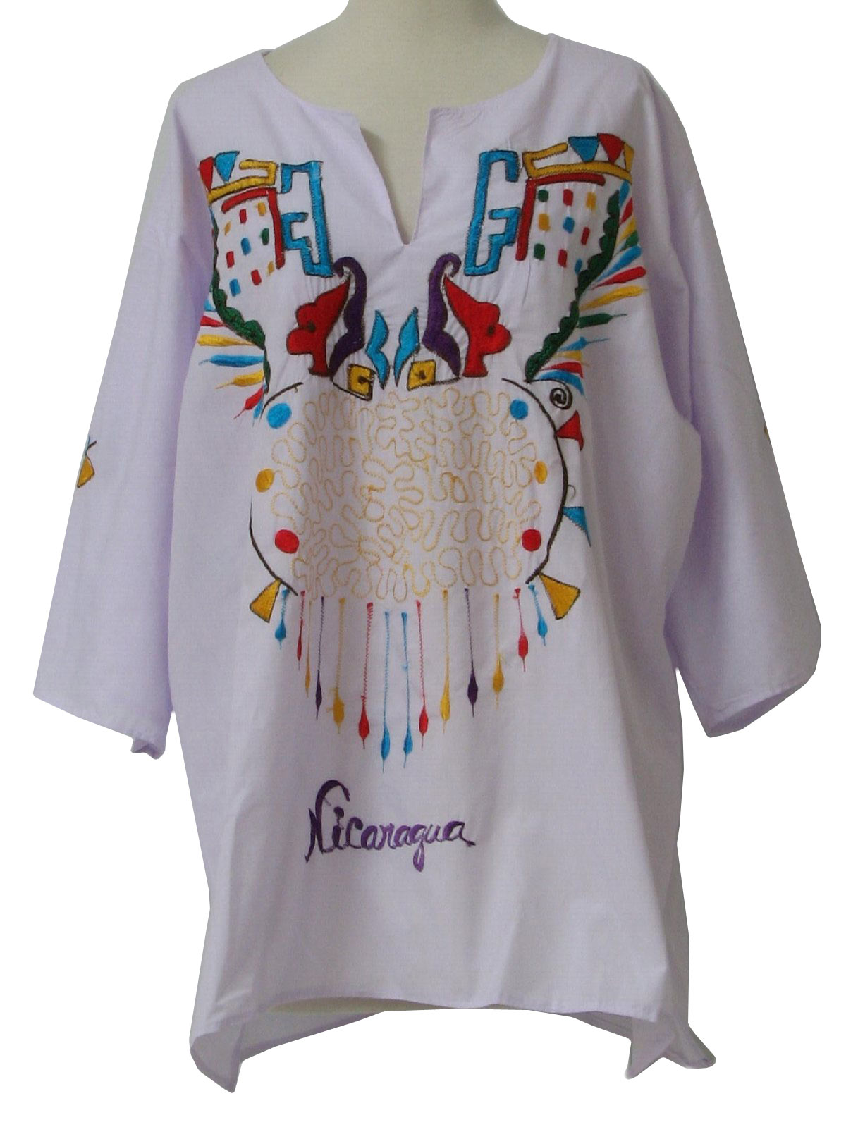 1980 S Retro Hippie Shirt 80s Made In Nicaragua Unisex