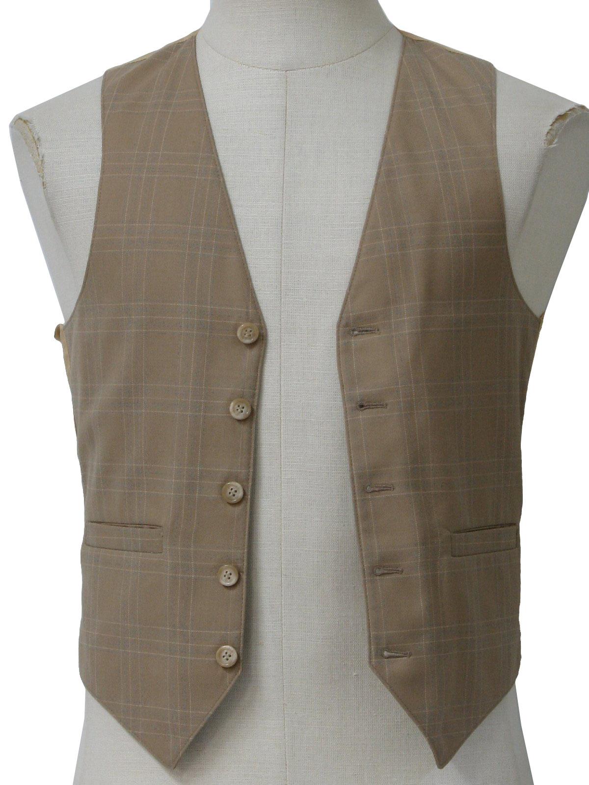 Vintage Mens Vest 44