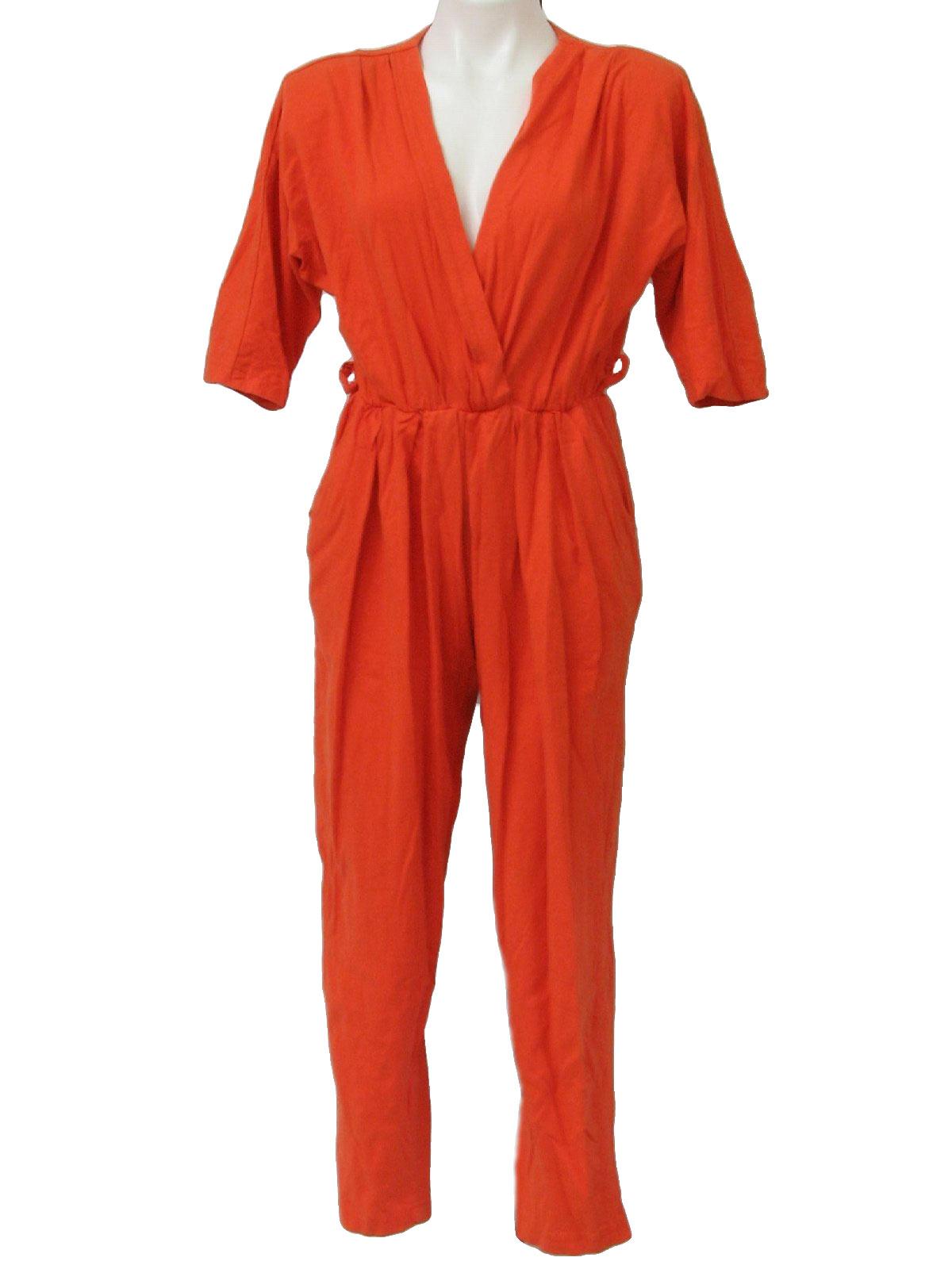 Beautiful Orange Jumpsuit Women Orange Jumpsuit Women