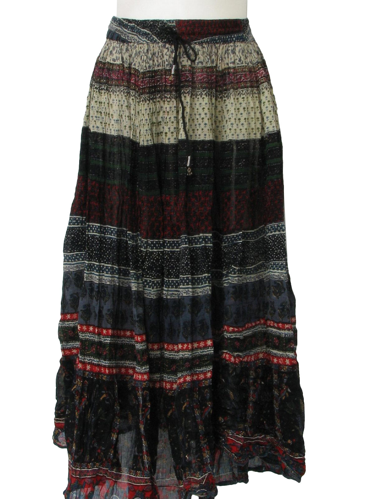 e5d6a985 70s Vintage Leena Studio Hippie Skirt: 70s style (made more recently ...