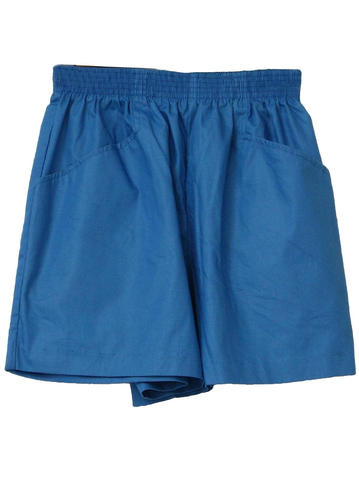 Ladies Cotton Shorts Elastic Waist - The Else