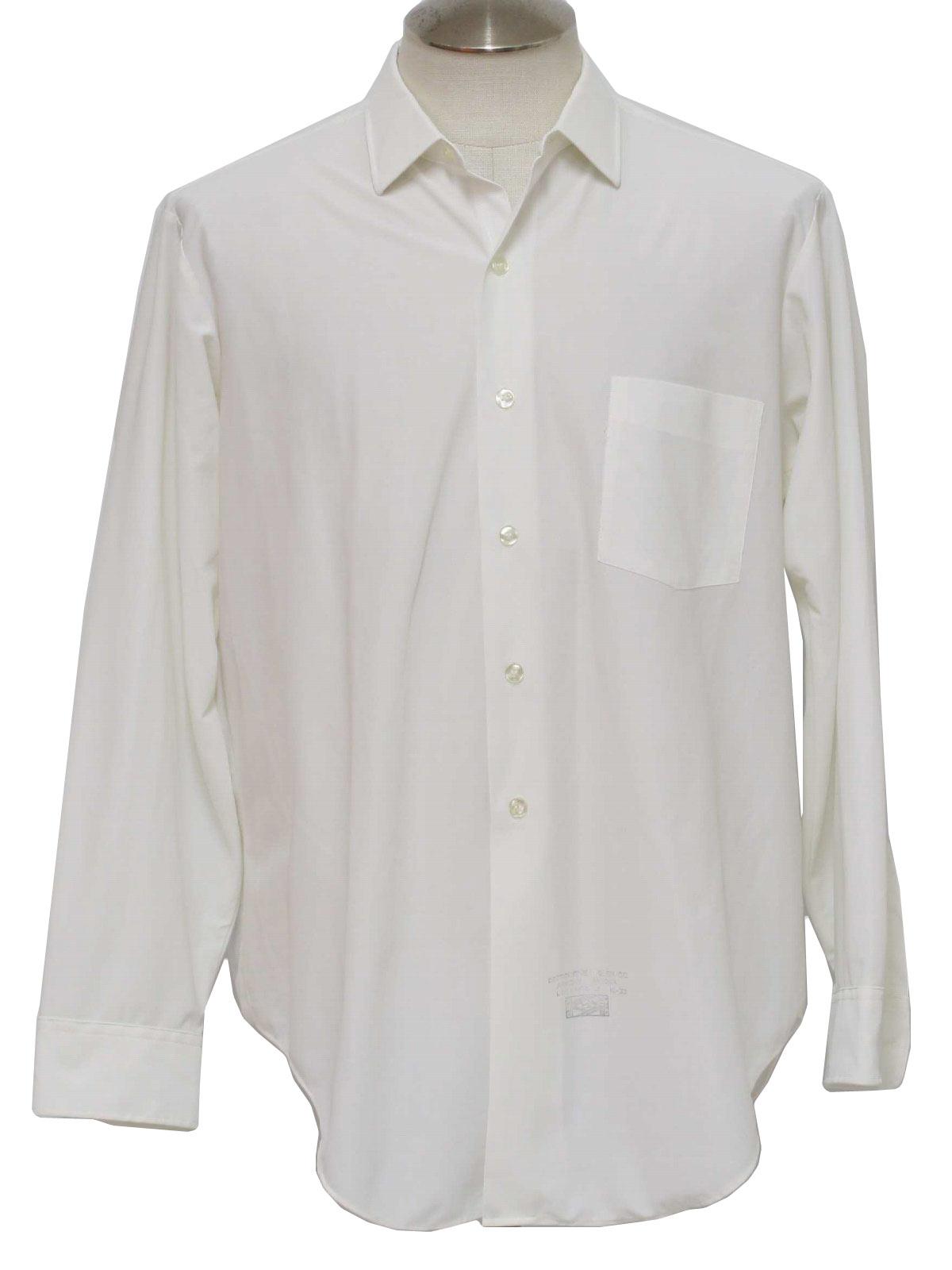 Mens White Collar Shirt