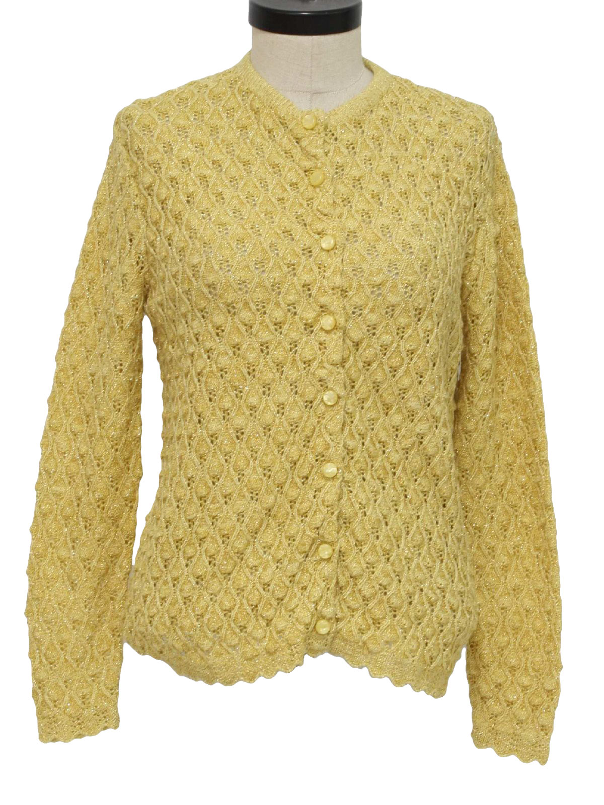 British Vogue 1960s Vintage Caridgan Sweater: 60s -British Vogue ...