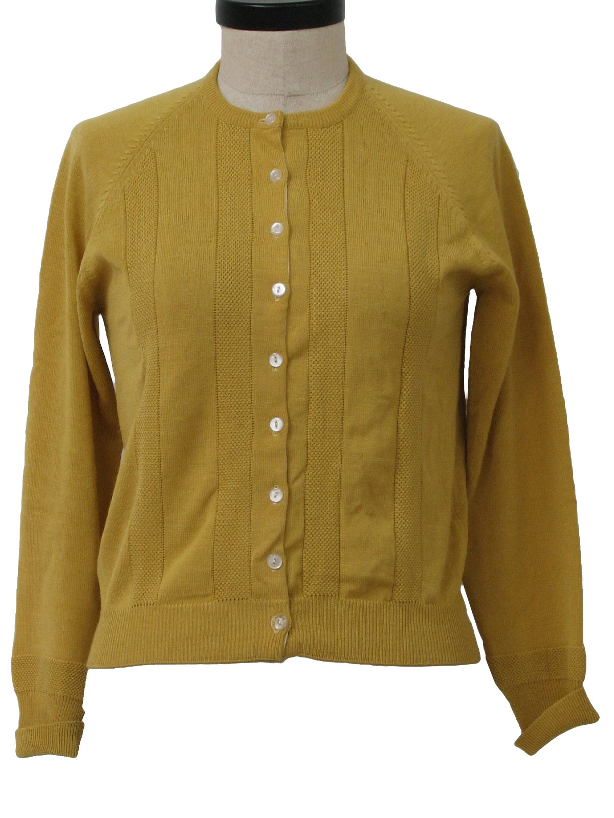 1960's Retro Caridgan Sweater: 60s -Barr and Beards Inc.- Womens ...