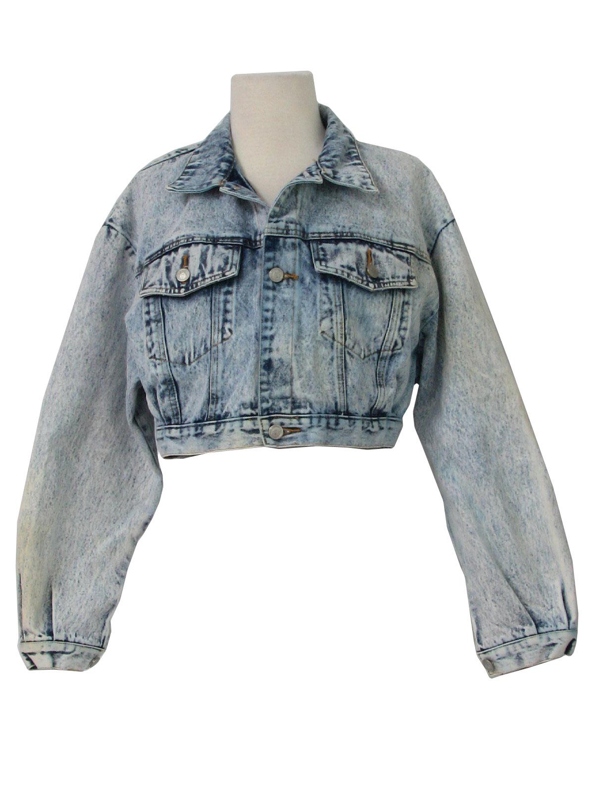 f52475bc0e0 Vintage 80s Jacket  80s -Contempo Casuals- Womens white and dark ...