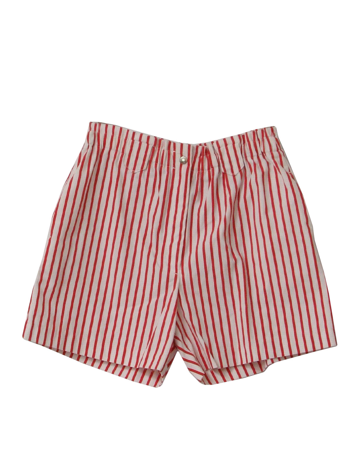 80s Shorts (Robins Nest): 80s -Robins Nest- Womens red and white ...