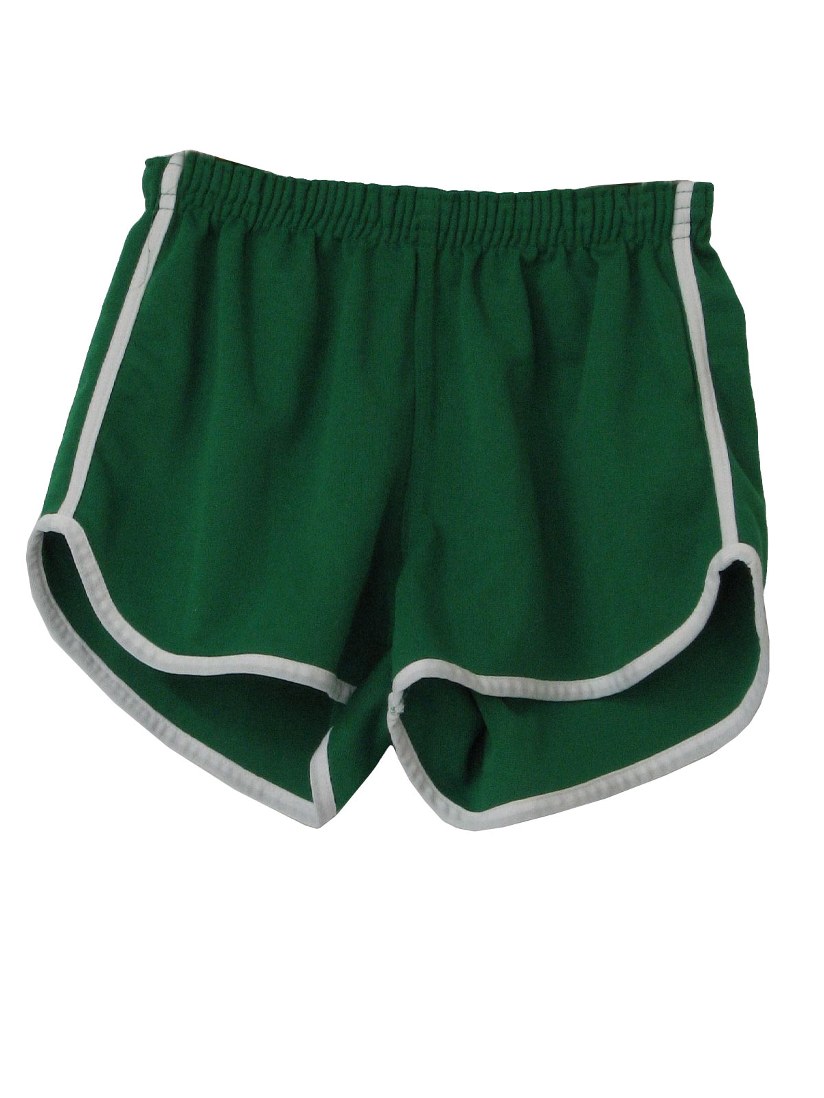 Vintage Kmart 70's Shorts: 70s -Kmart- Mens green and white side ...