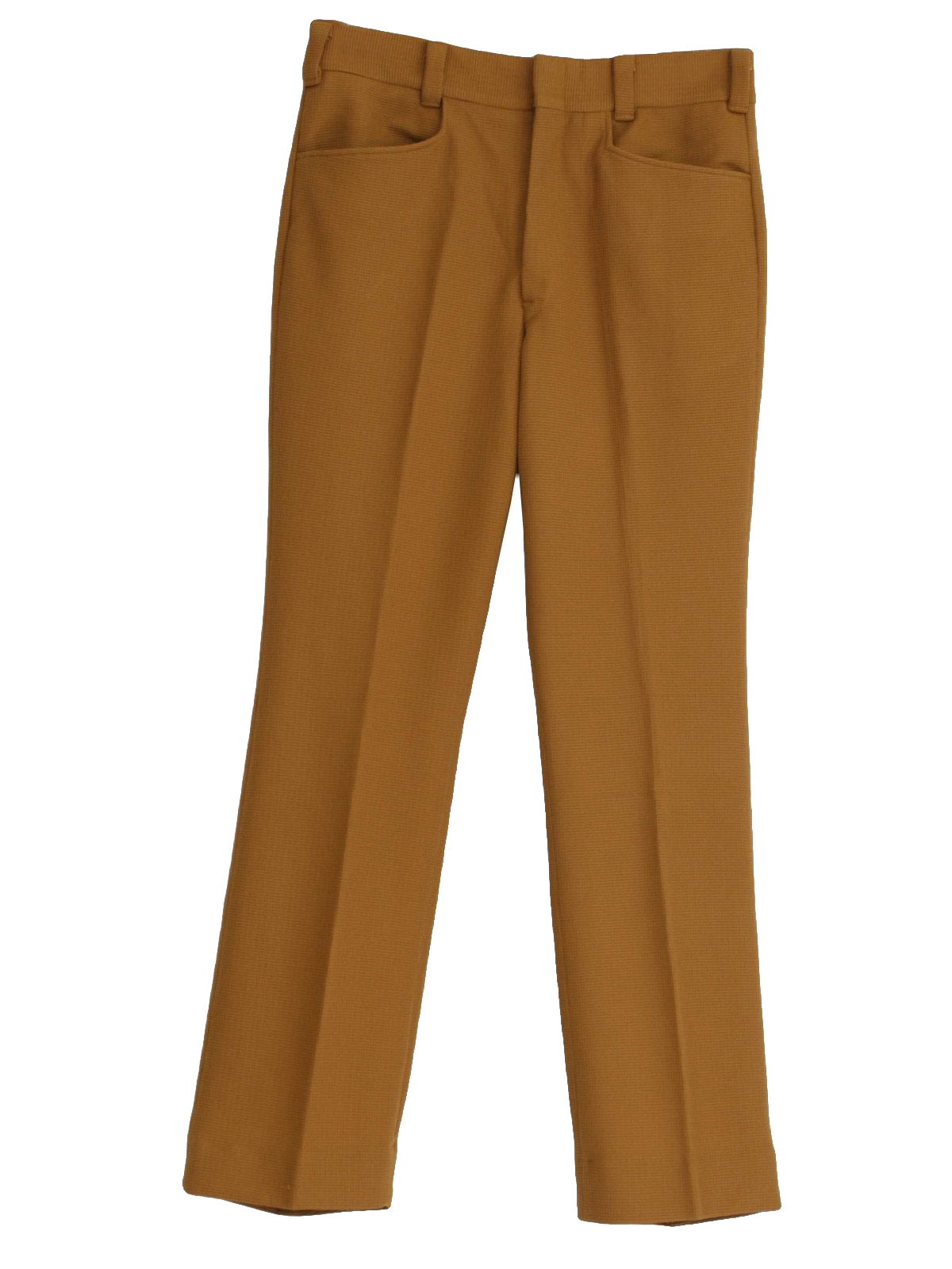 1970 S Vintage A Pants 70s A 1 Mens Dark Camel Colored
