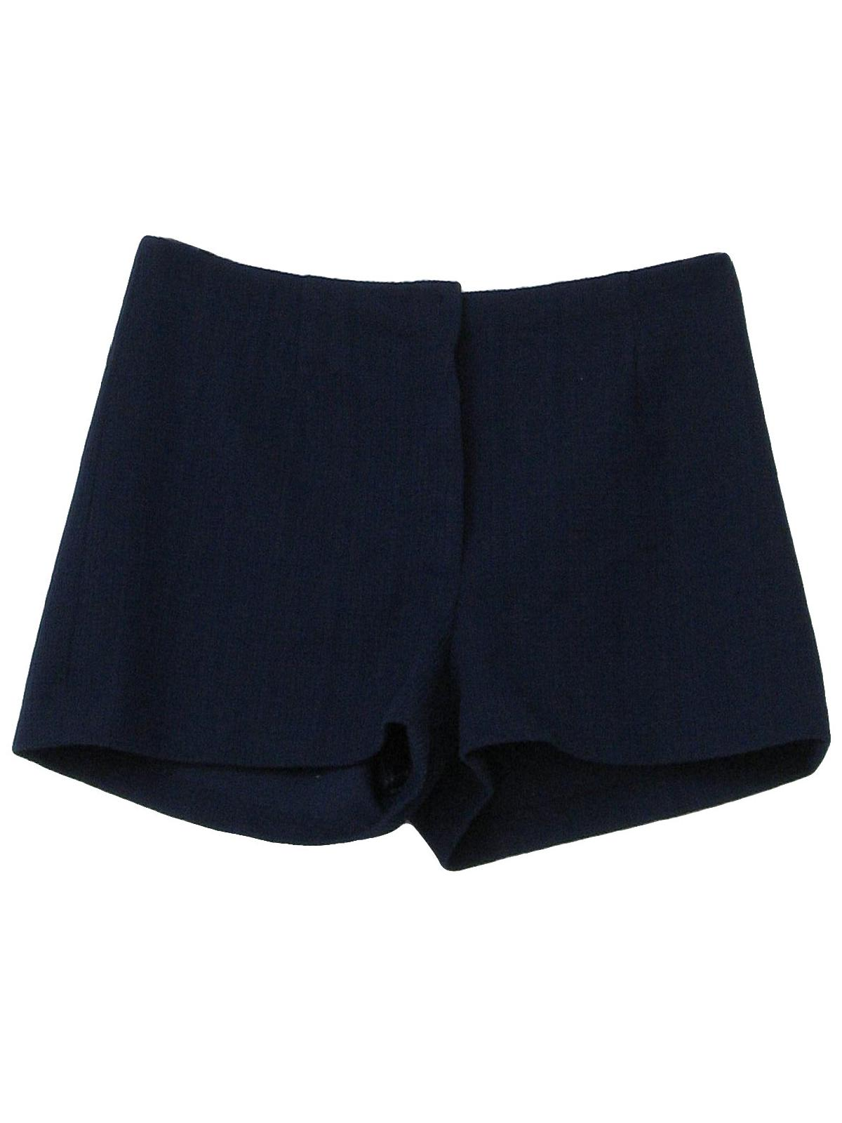 Navy Blue Short Shorts