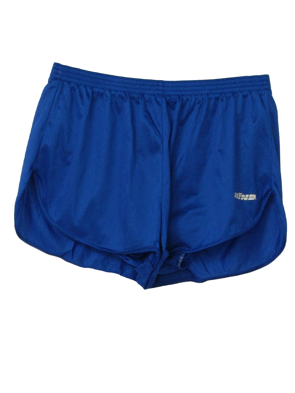 Vintage 90s Shorts: 90s -Hind- Mens blue nylon on nylon