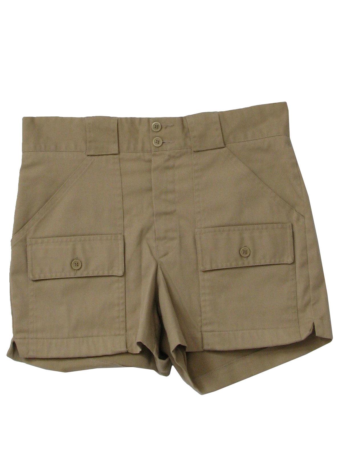 Vintage Eddie Bauer Nineties Shorts: 90s -Eddie Bauer- Mens khaki ...