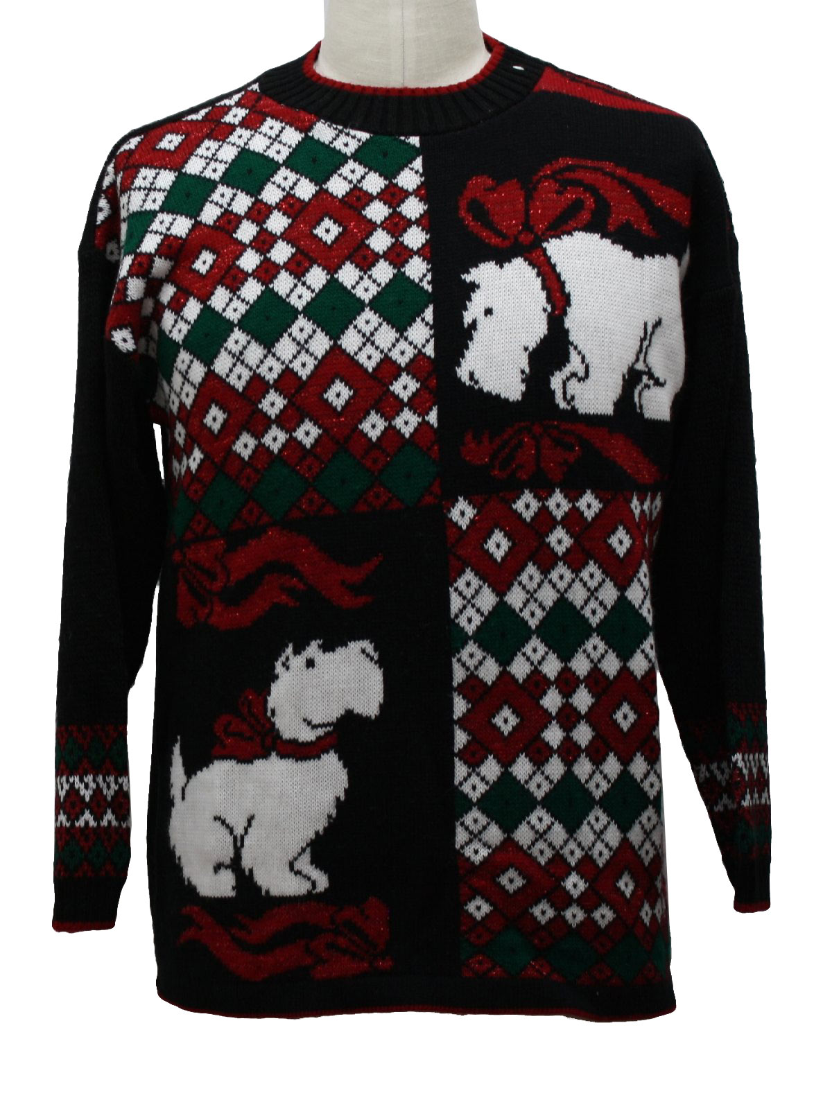 vintage holiday pullover