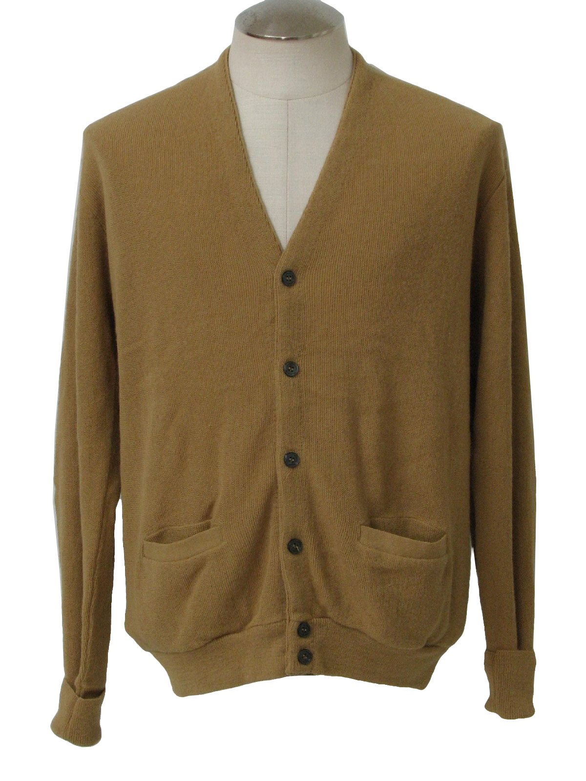 Vintage The Fox Collection 70's Caridgan Sweater: 70s -The Fox ...