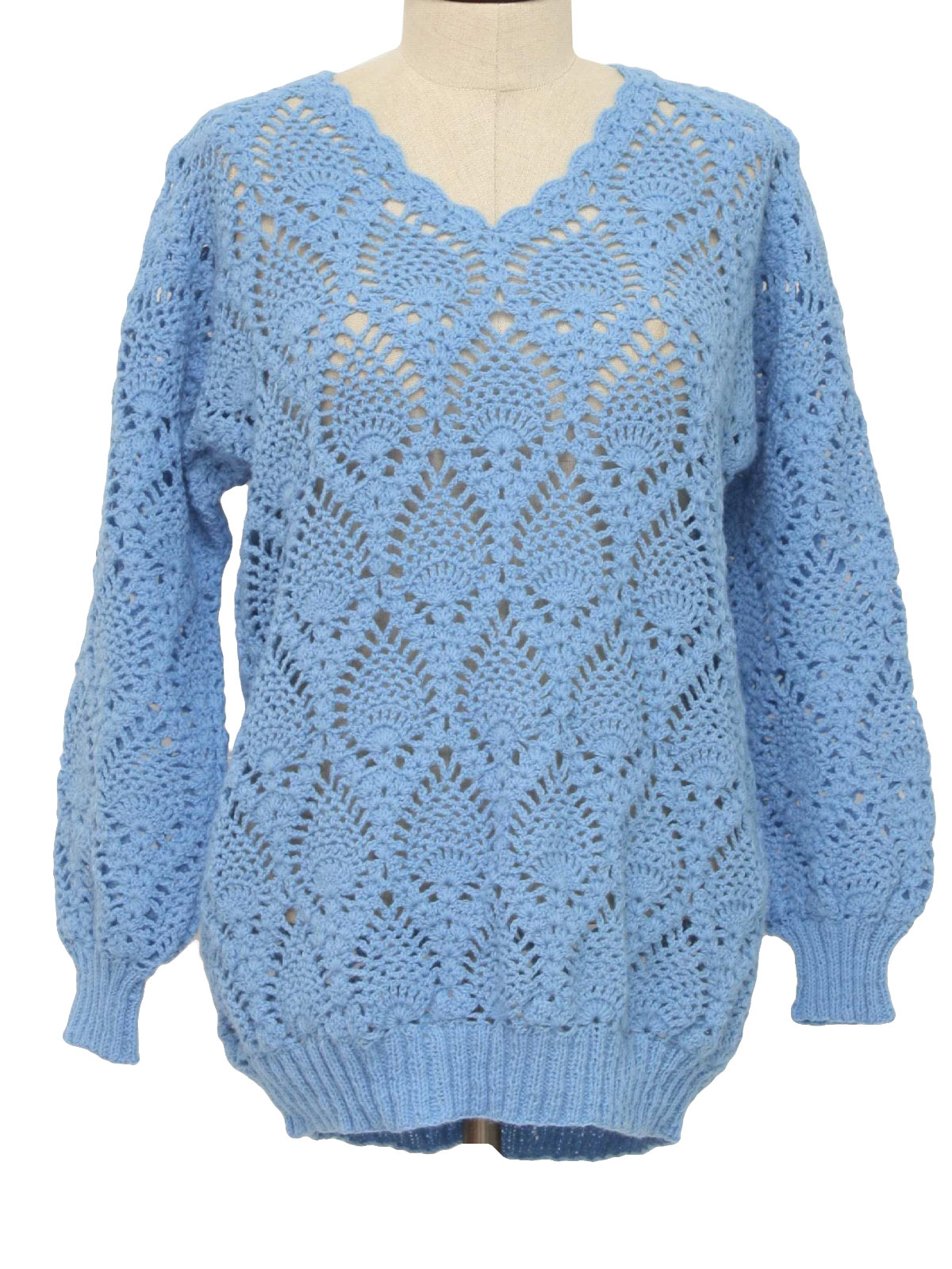 Free Crochet Pattern Sweater Pullover : How To Crochet A Pullover Sweater - Viewing Gallery