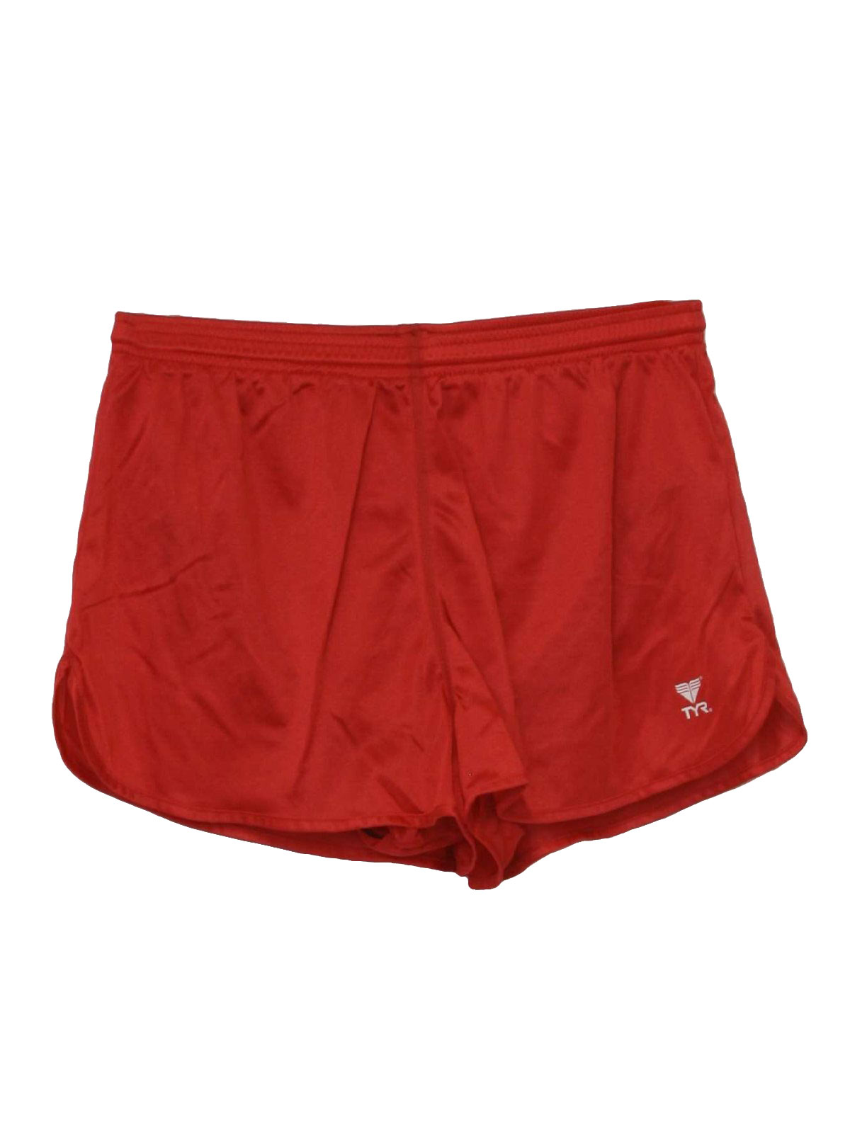 90s Shorts (TYR): 90s -TYR- Mens red nylon wicked 90s running ...