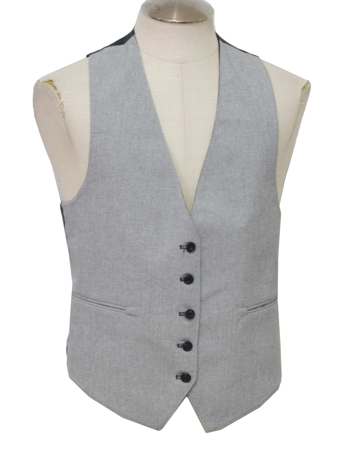 Light Grey Tuxedo Suit Suit Vest With Light Grey