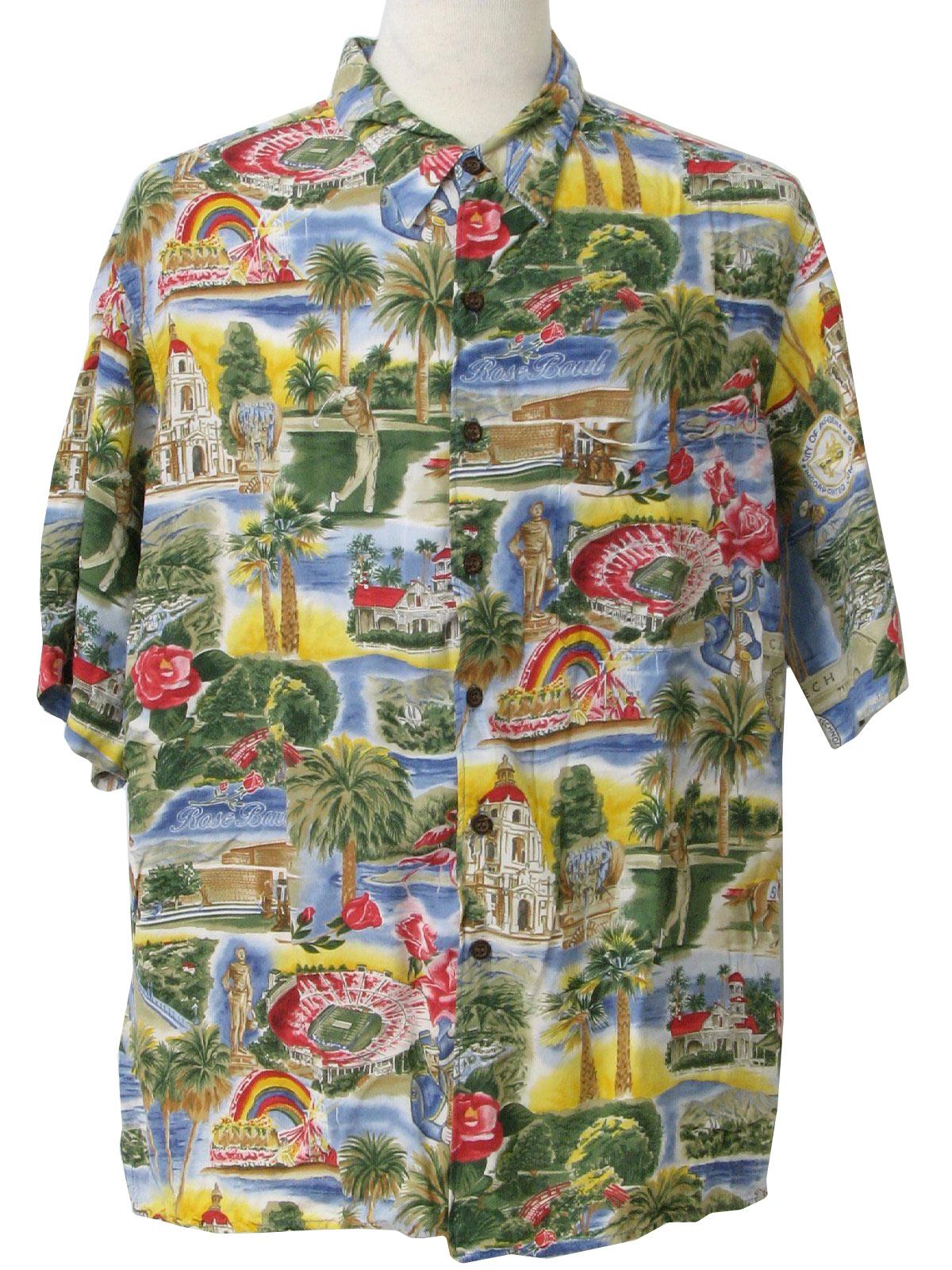 7dfd4b07 Retro Eighties Hawaiian Shirt: Late 80s or early 90s -Reyn Spooner ...