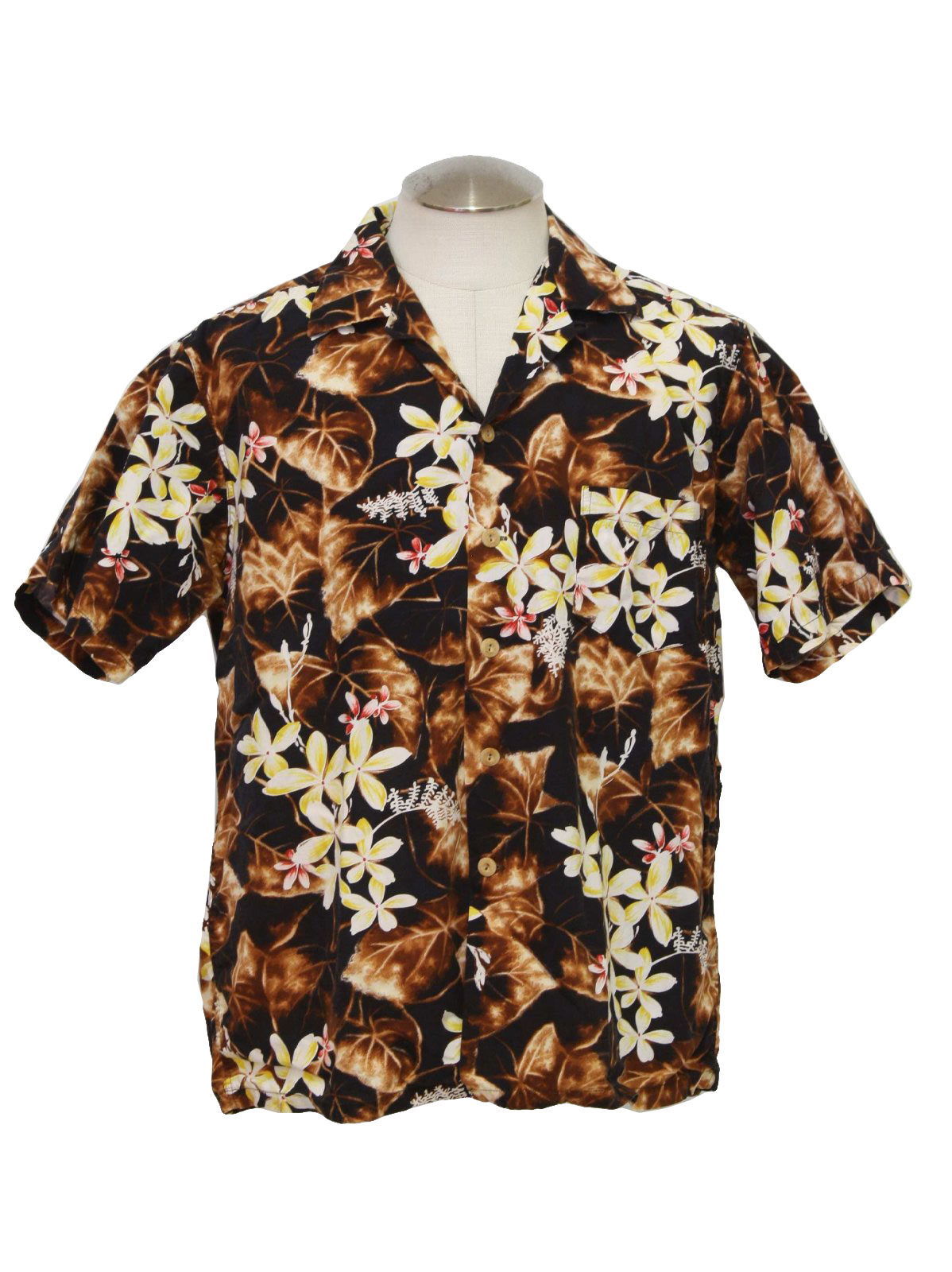 50s Hawaiian Shirt (Kamehameha): Late 50s or early 60s -Kamehameha ...