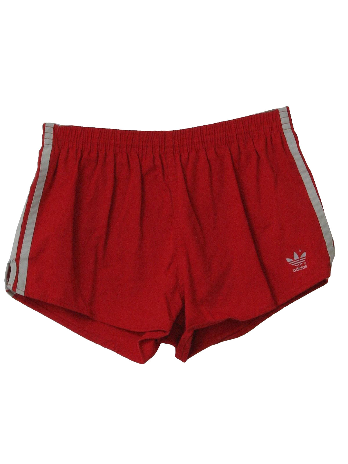Vintage 1980 S Shorts 80s Adidas Mens Red Cotton And