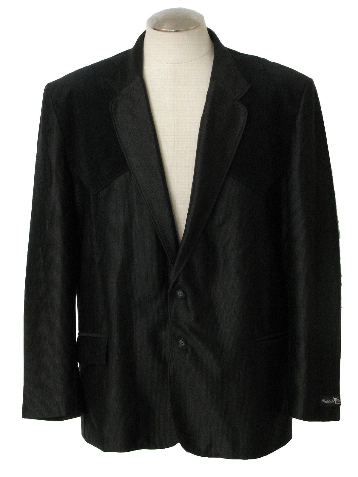 80s Retro Jacket 80s Buffalo Country Western Wear Mens