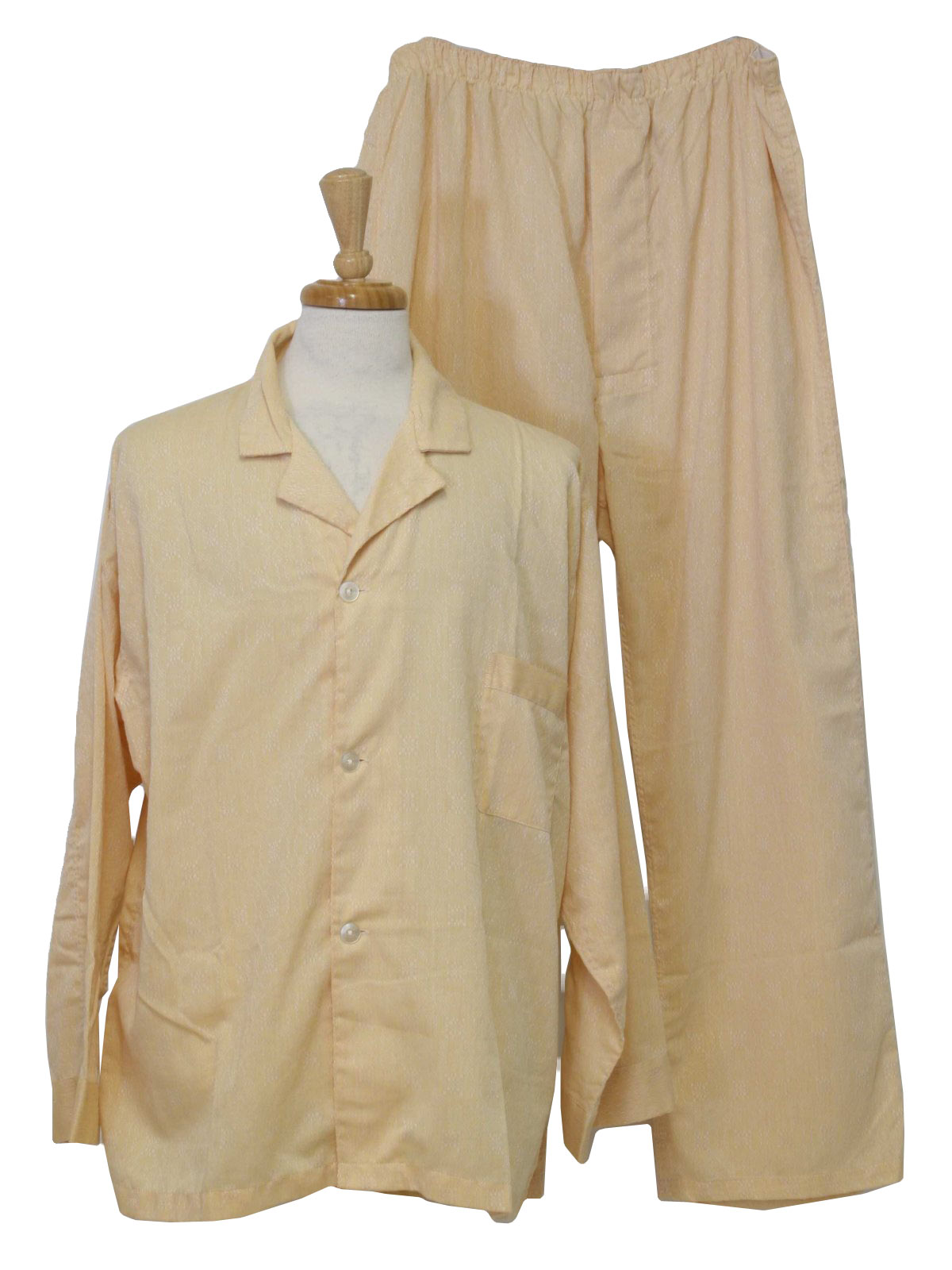 60 S Vintage Mens Pajamas Late 60s I Magnin Mens Two