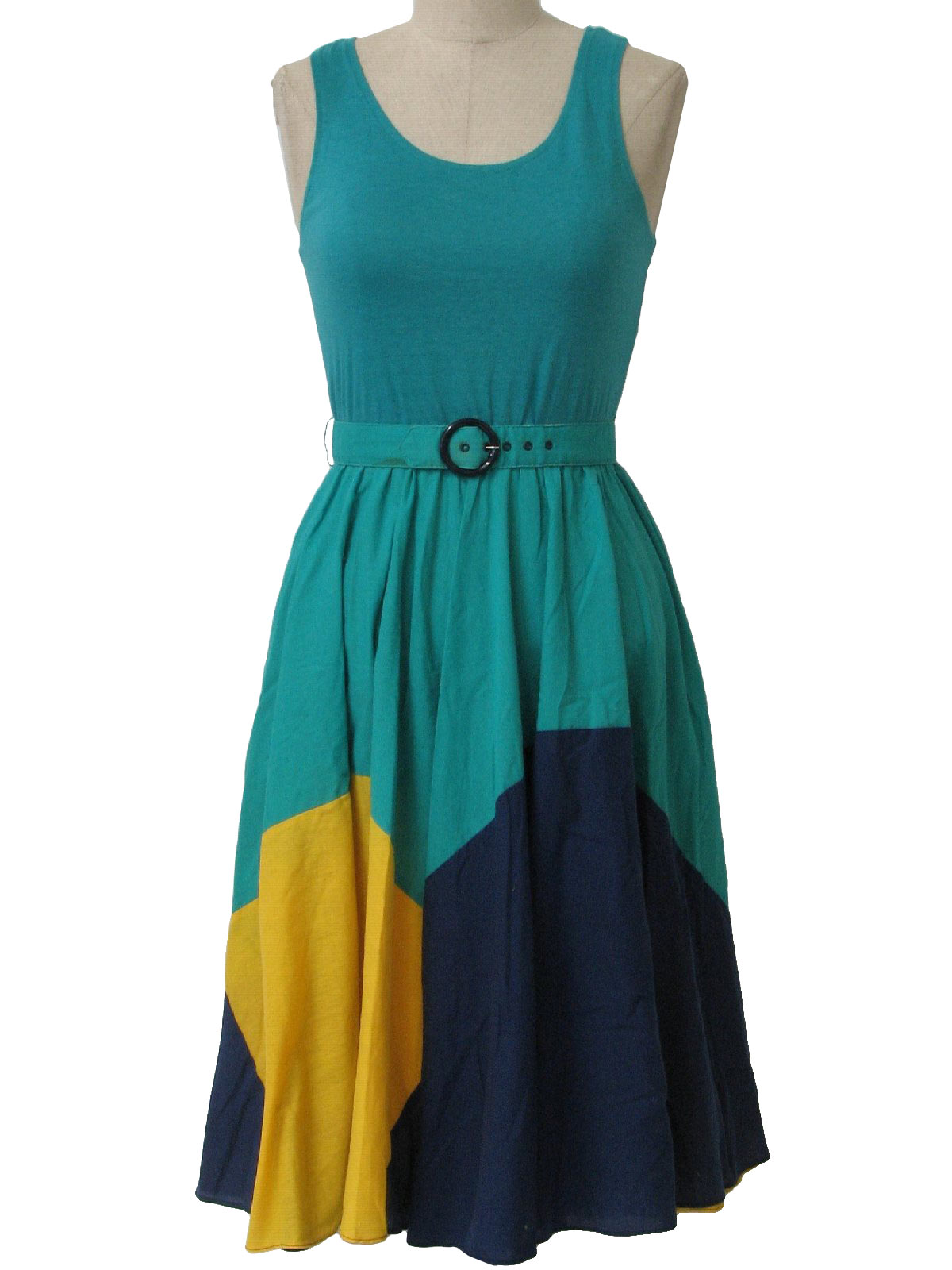 PKs Closet 1980s Vintage Dress: 80s -PKs Closet- Womens teal green ...