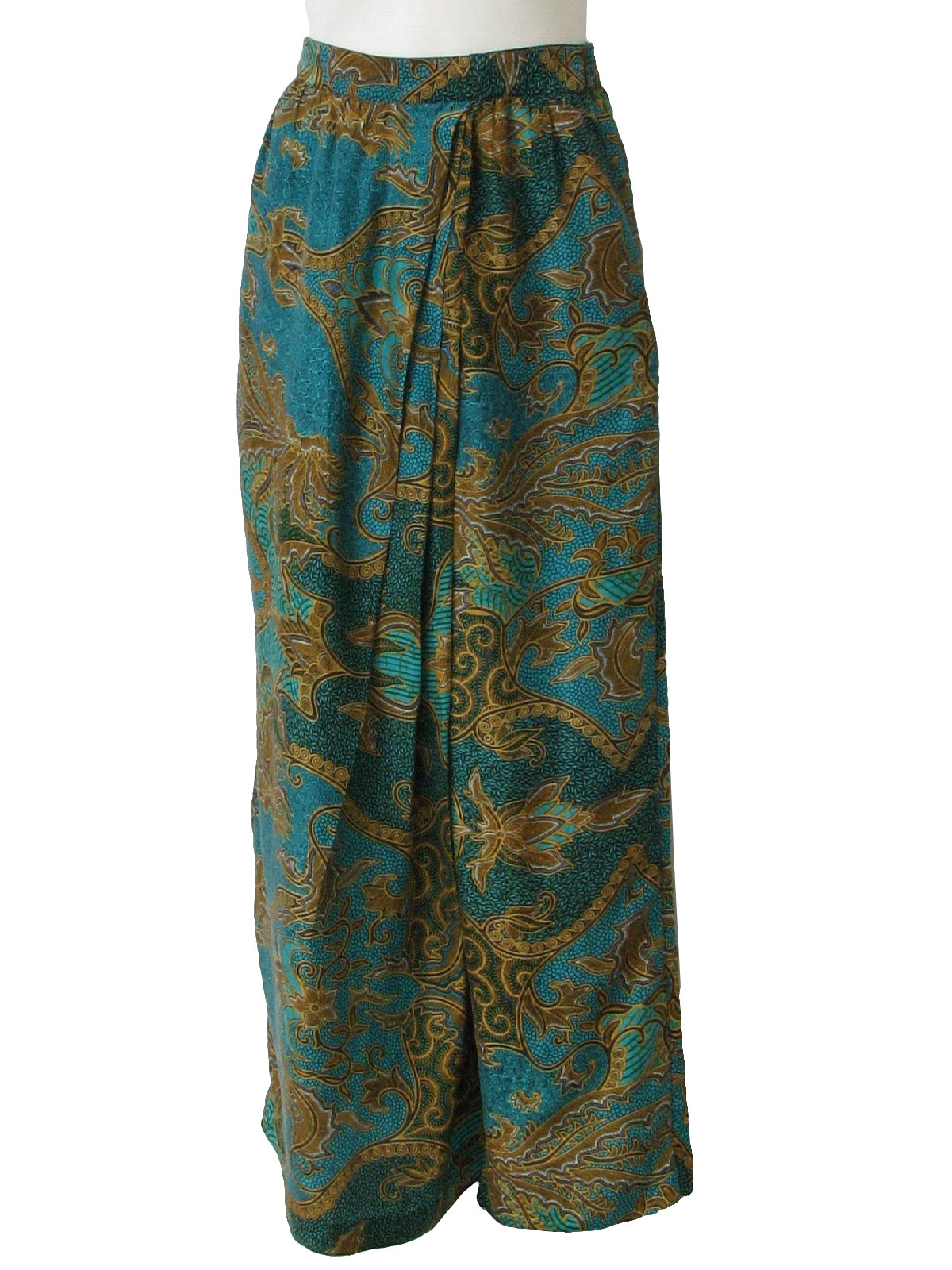 Simple Casual Hippie Boho Women Long Pants Vintage Ethnic Style Women Summer