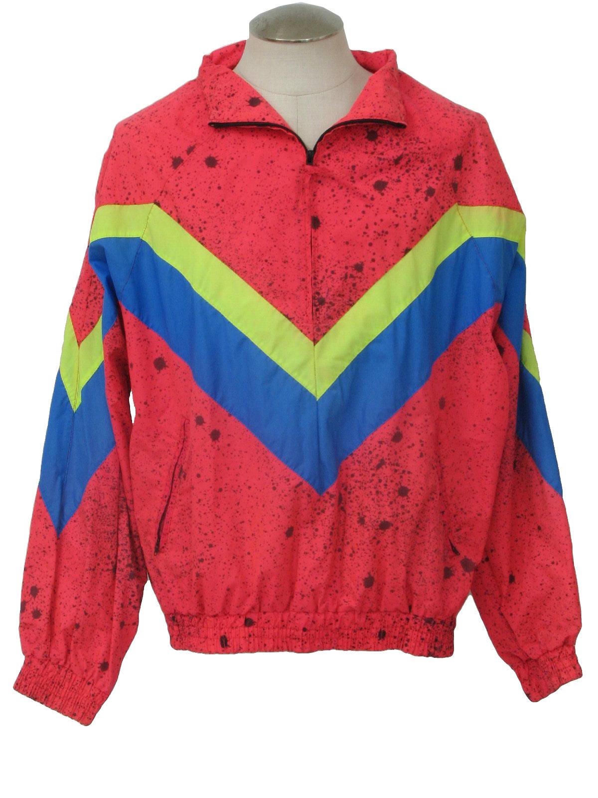 Retro 1980's Jacket (Dual Control) : 80s -Dual Control- Mens hot ...