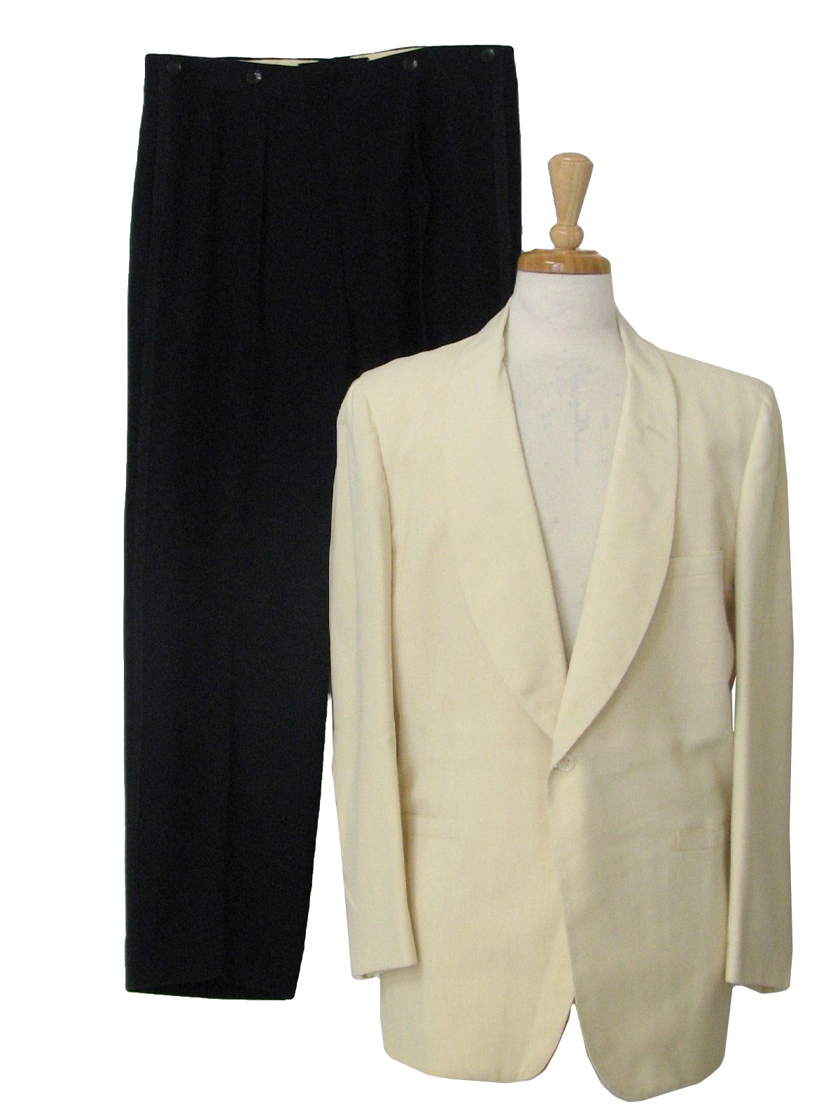 1950s Vintage Suit Early 50s Brooks Brothers Mens Two