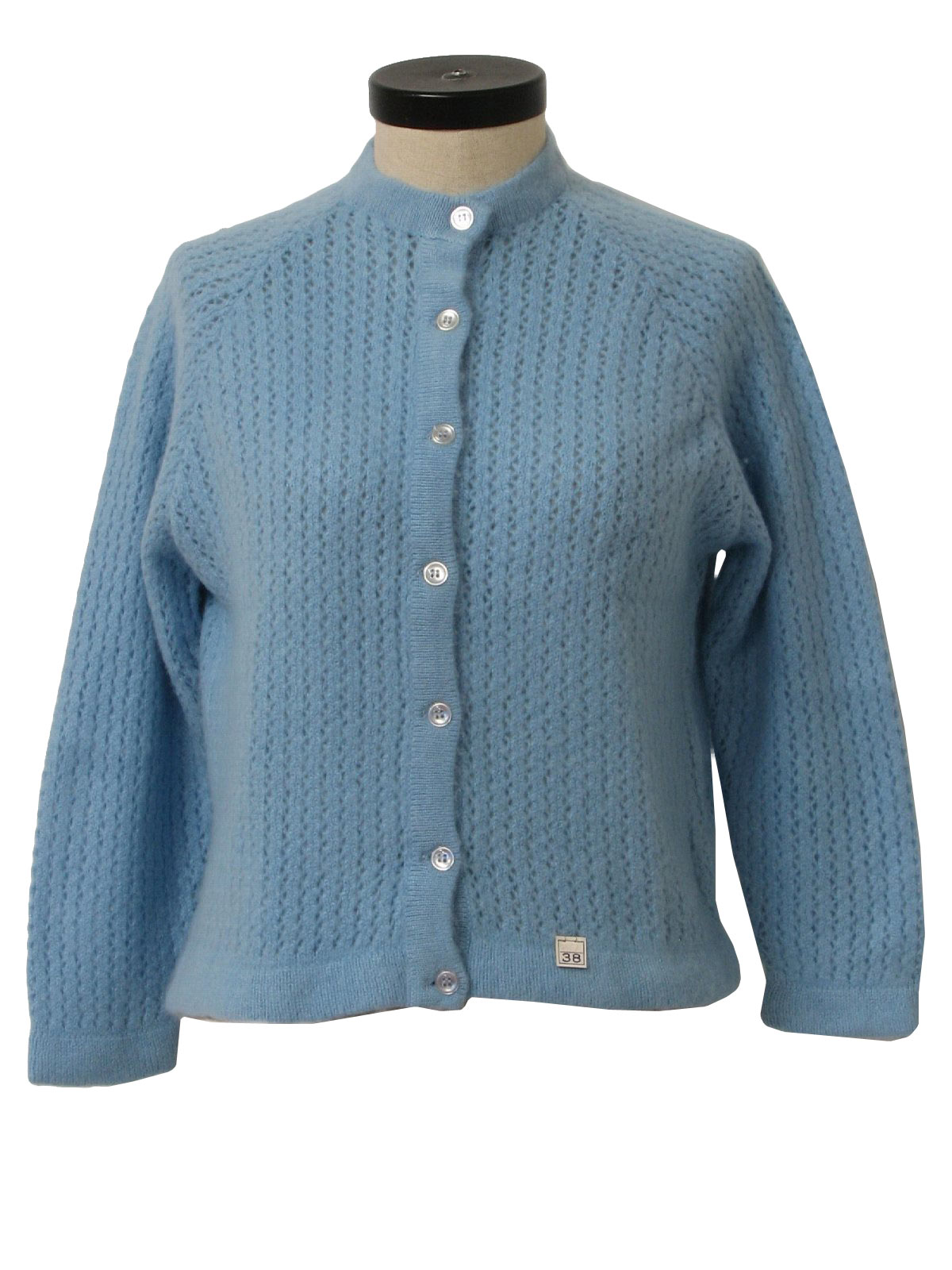 1960's Retro Caridgan Sweater: Early 60s -Colebrook 4-Ply- Womens ...