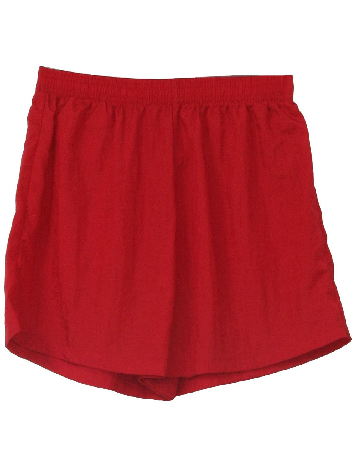 Retro 80s Shorts (Hanes Her Way) : 80s -Hanes Her Way- Womens red ...