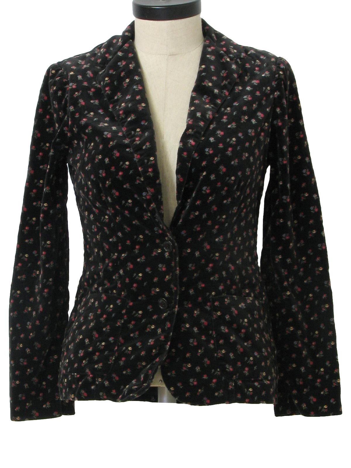 Seventies Alpaq Jacket: 70s -Alpaq- Womens black, shaded